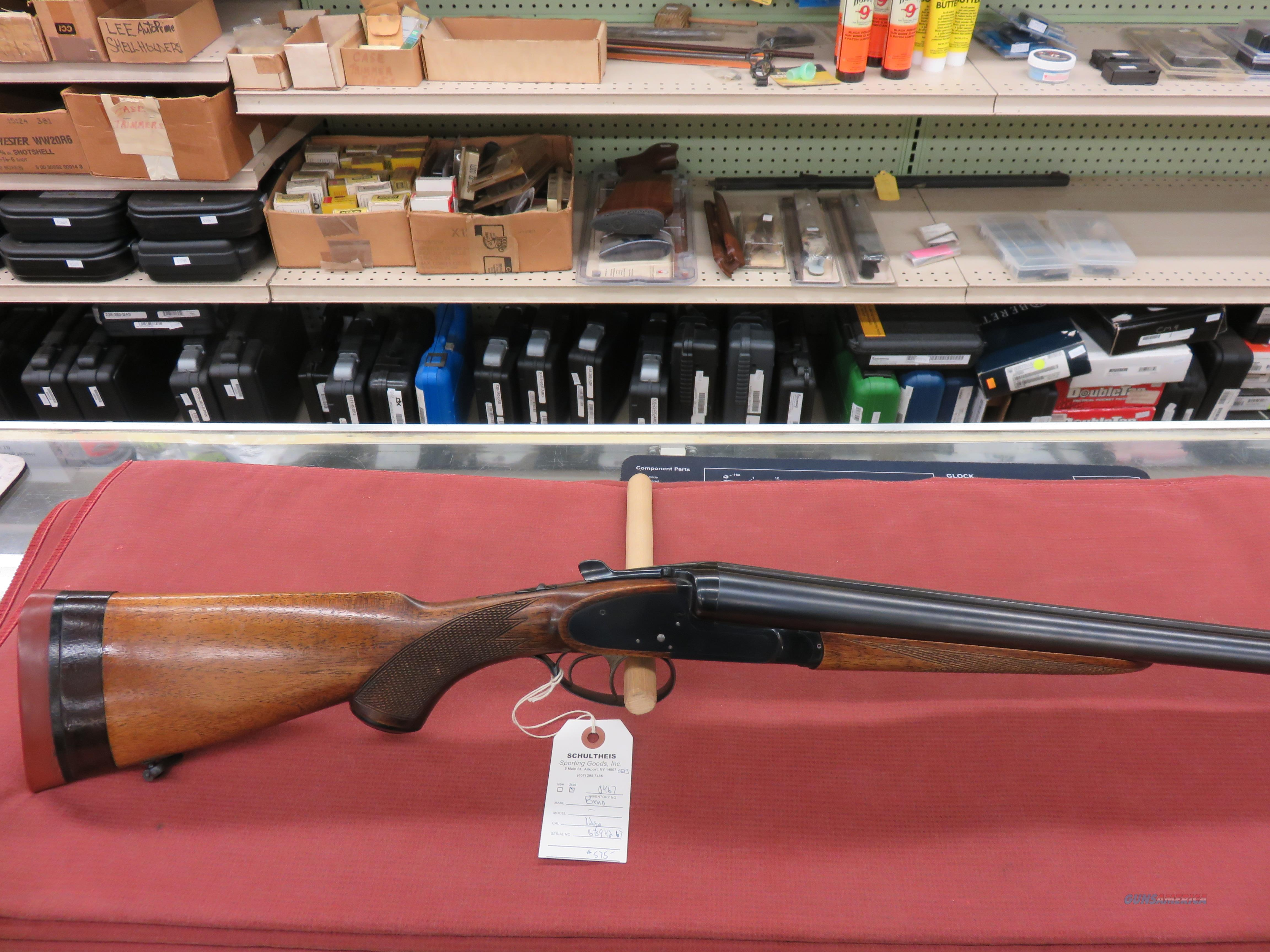 BRNO 12ga, sidelock double  Guns > Shotguns > B Misc Shotguns