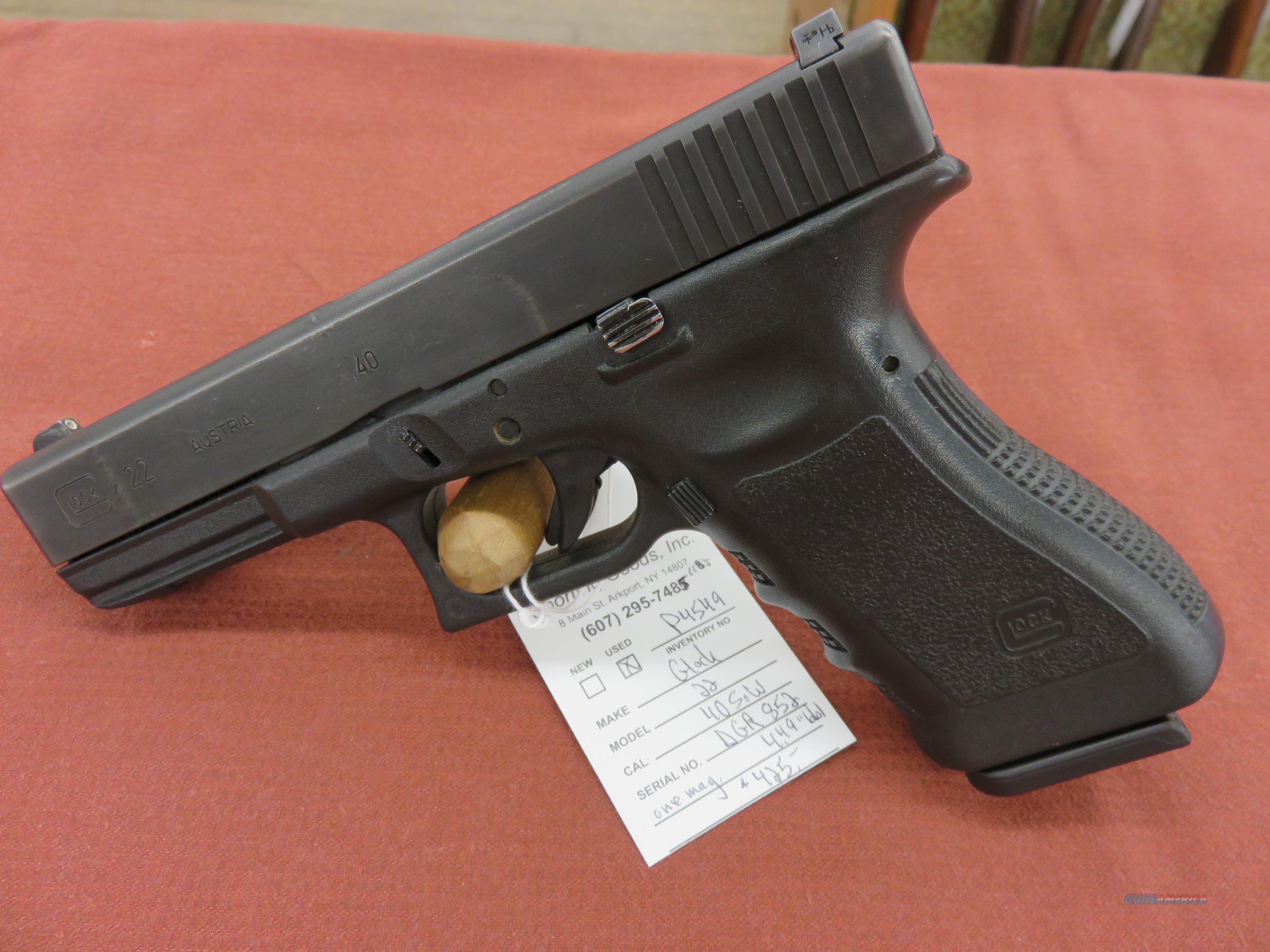 Glock 22  Guns > Pistols > Glock Pistols > 22