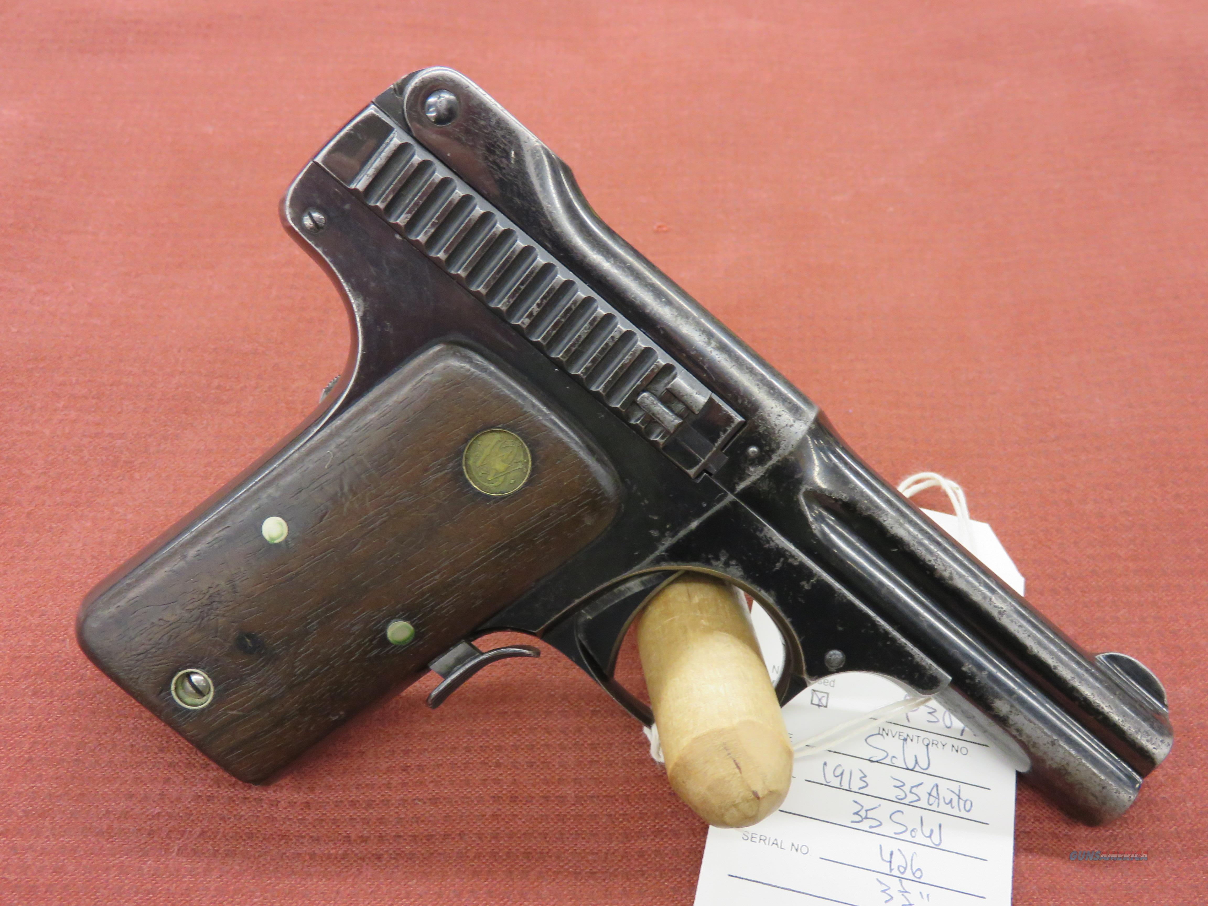 Smith & Wesson 35 Auto Model of 1913  Guns > Pistols > Smith & Wesson Pistols - Autos > Steel Frame