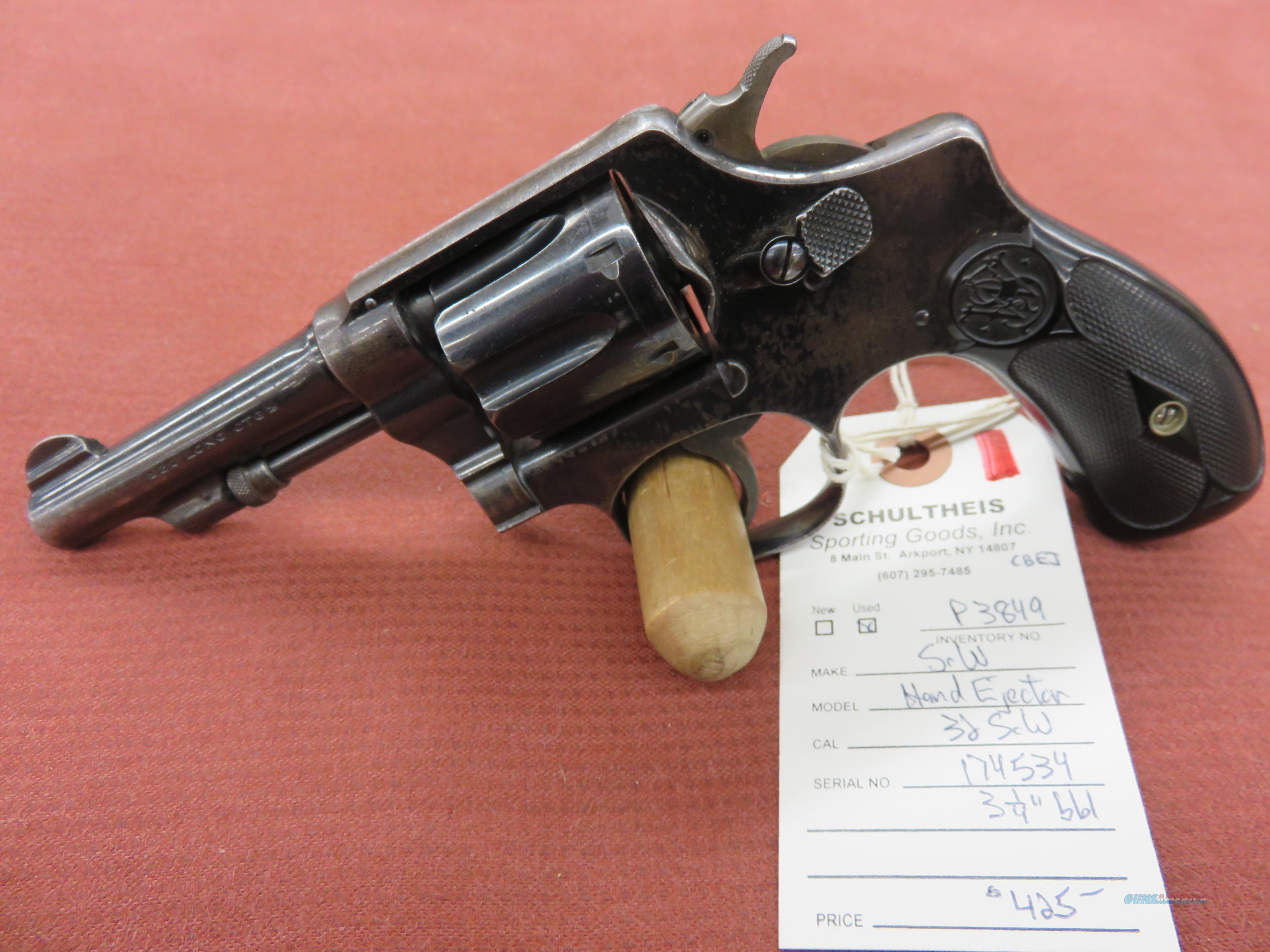 Smith & Wesson Hand Ejector, 5th Version  Guns > Pistols > Smith & Wesson Revolvers > Small Frame ( J )