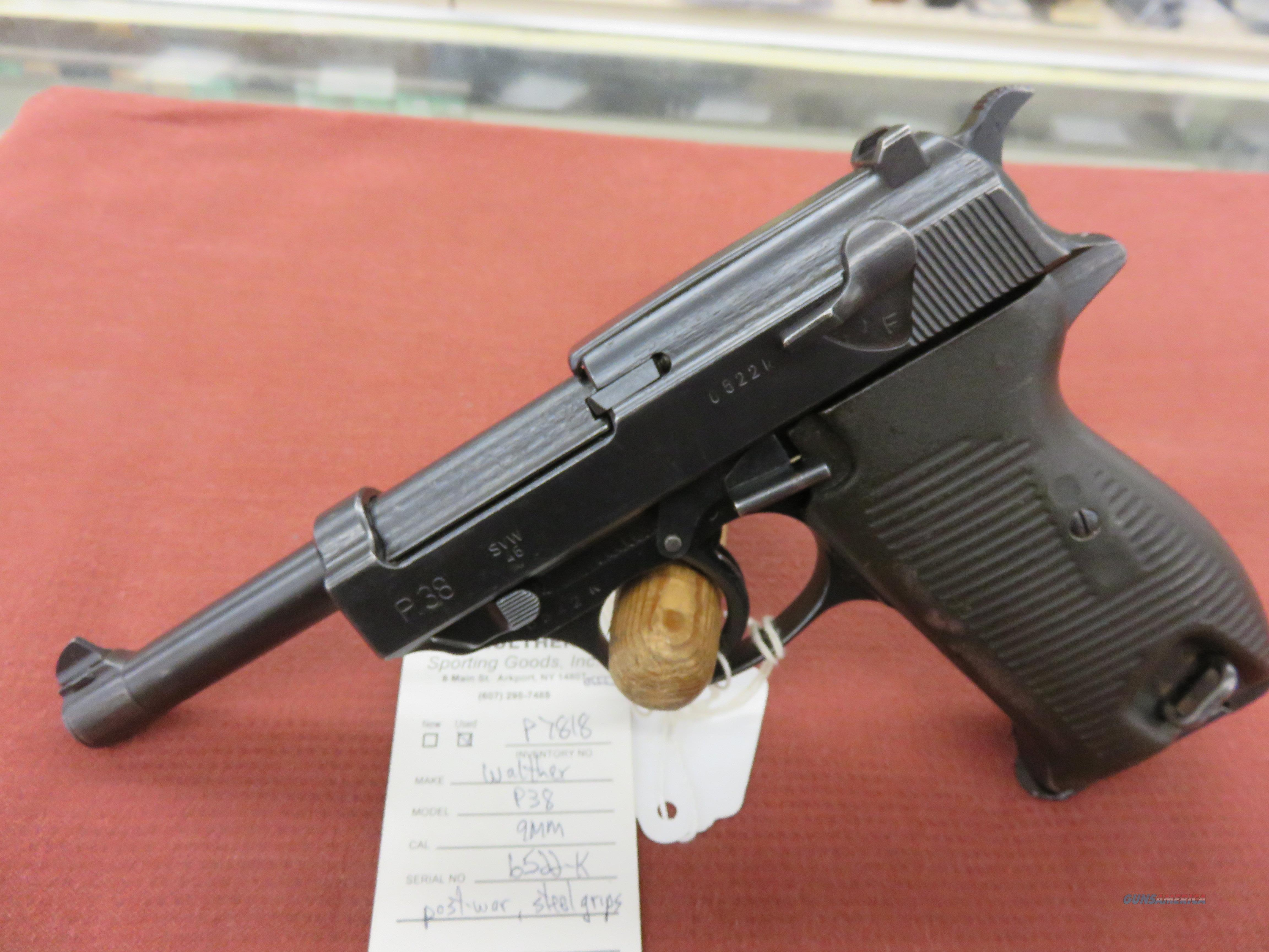 Walther P38  Guns > Pistols > Walther Pistols > Post WWII > P38