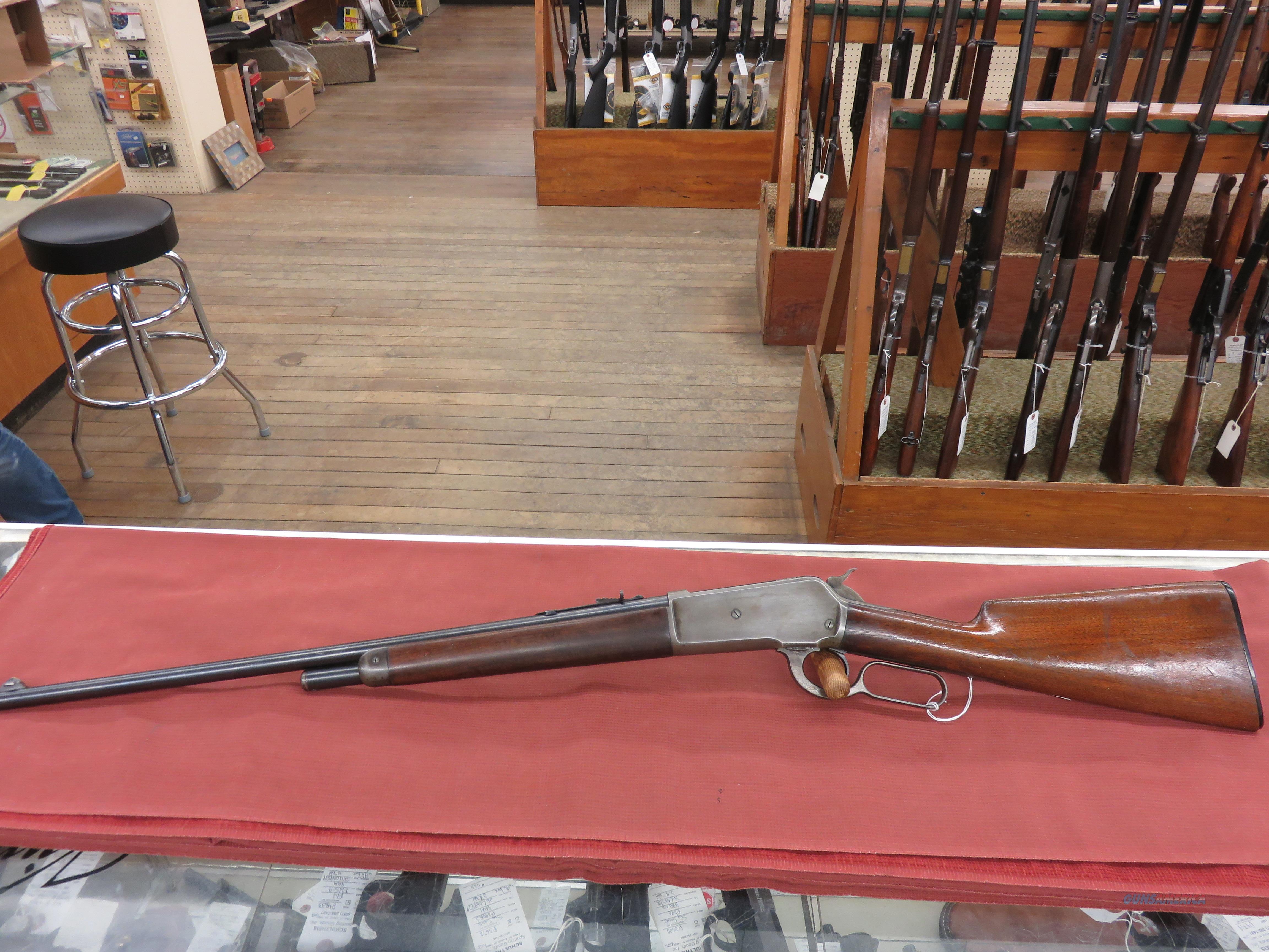 Winchester 1886 Lightweight rifle  Guns > Rifles > Winchester Rifles - Pre-1899 Lever