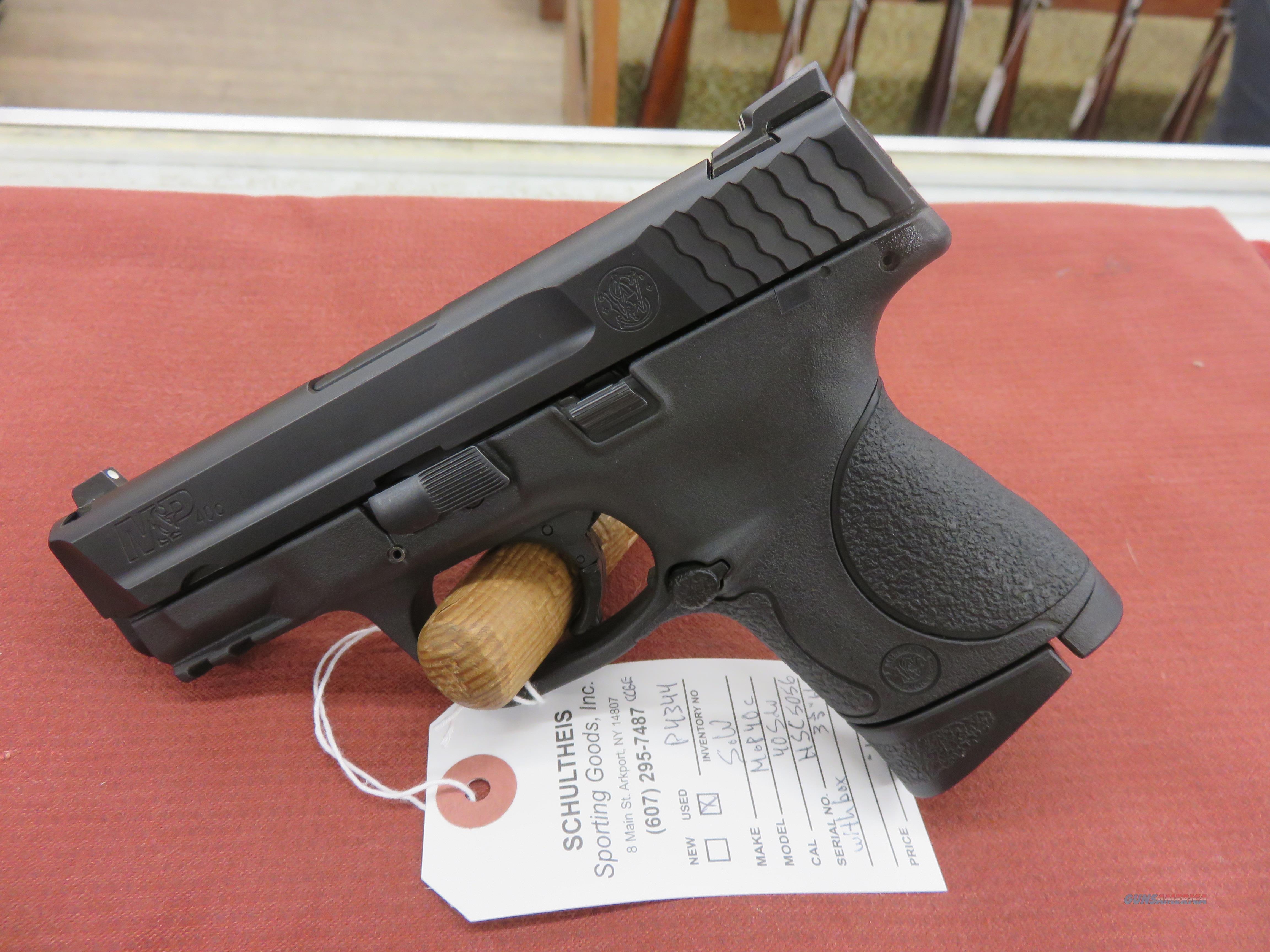 Smith & Wesson  M&P40c  40 S&W  Guns > Pistols > Smith & Wesson Pistols - Autos > Shield