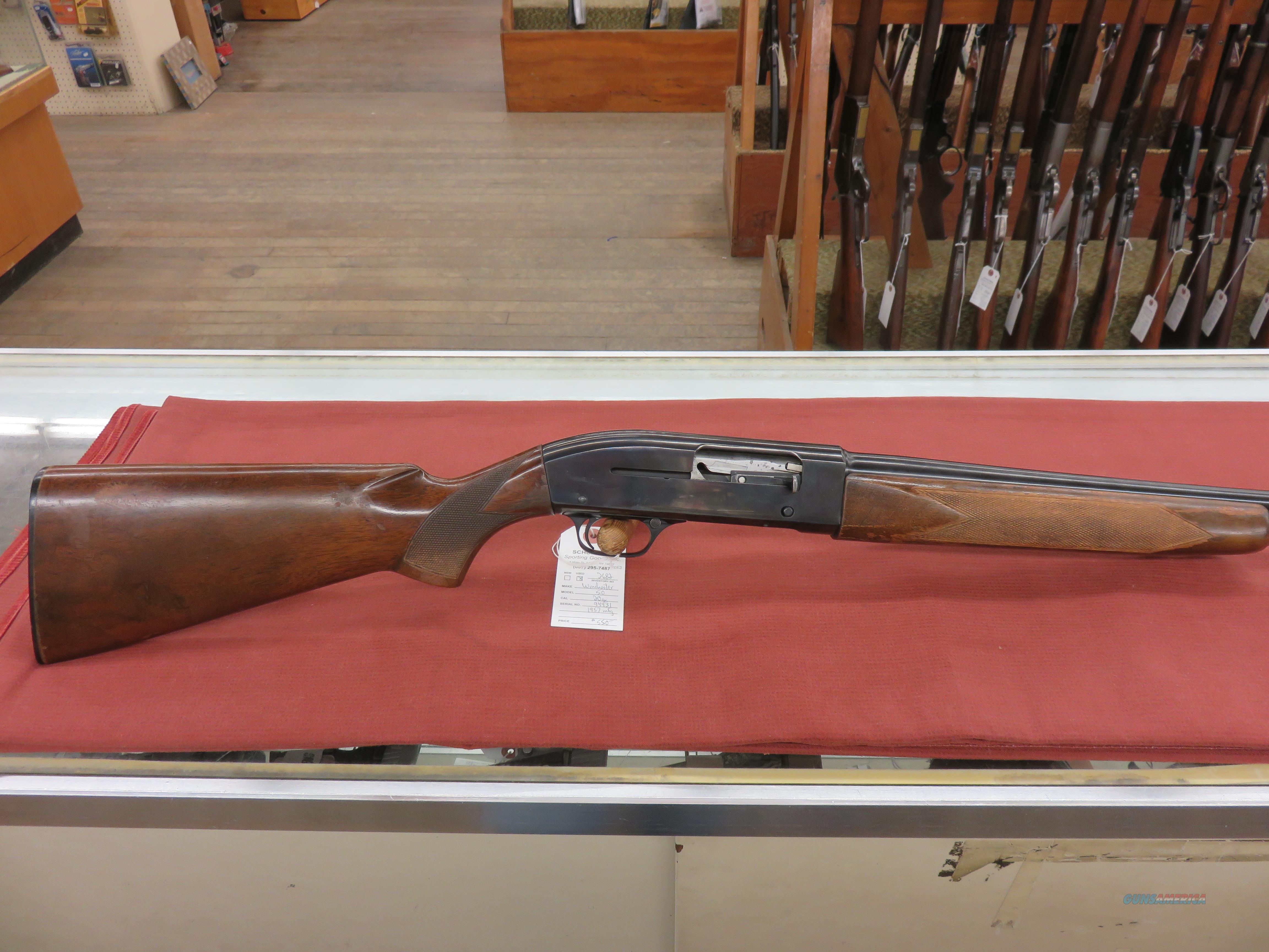 Winchester Model 50  Guns > Shotguns > Winchester Shotguns - Modern > Autoloaders > Hunting