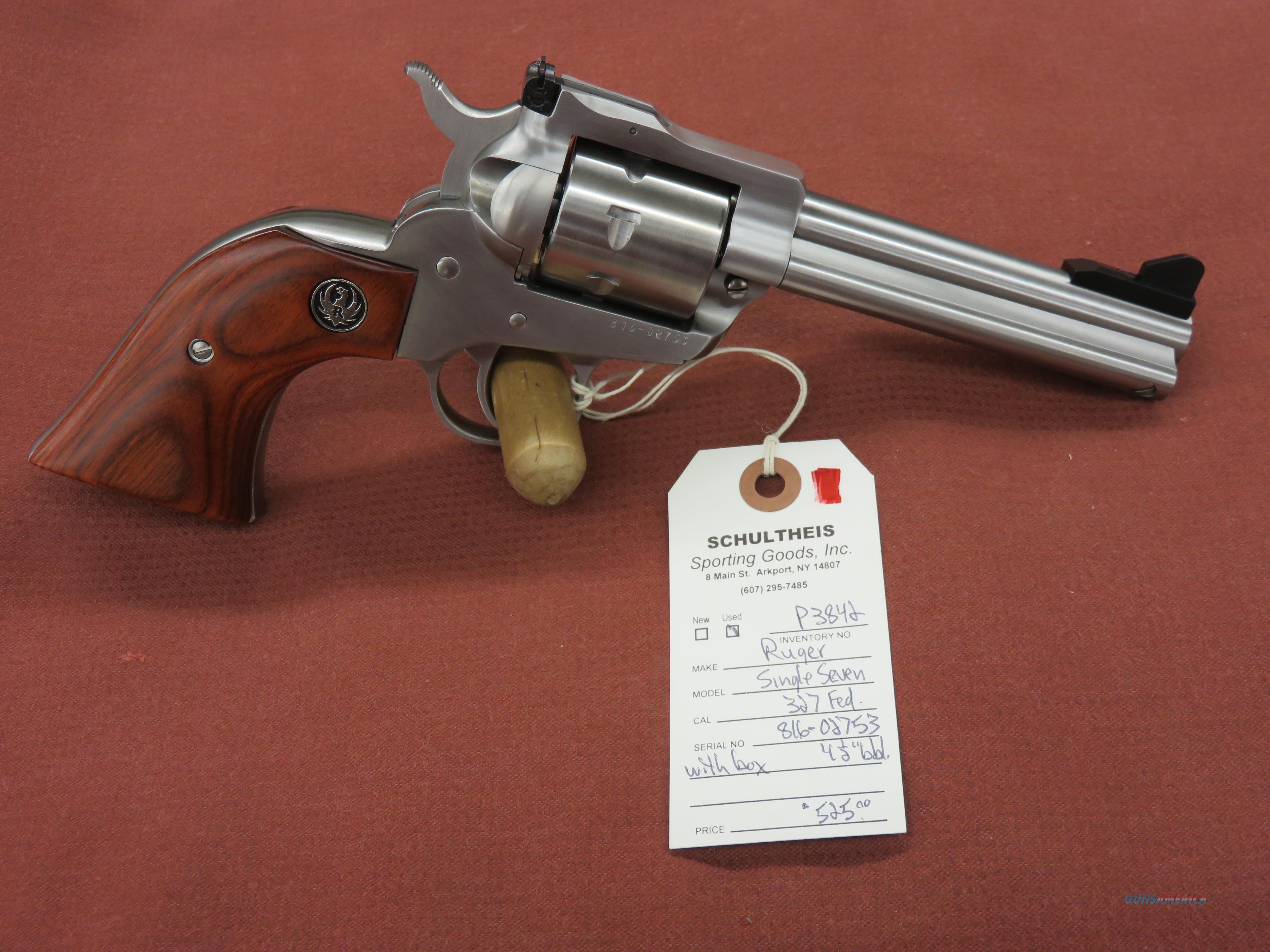 Ruger Single Seven .327 Federal  Guns > Pistols > Ruger Single Action Revolvers > Single Six Type