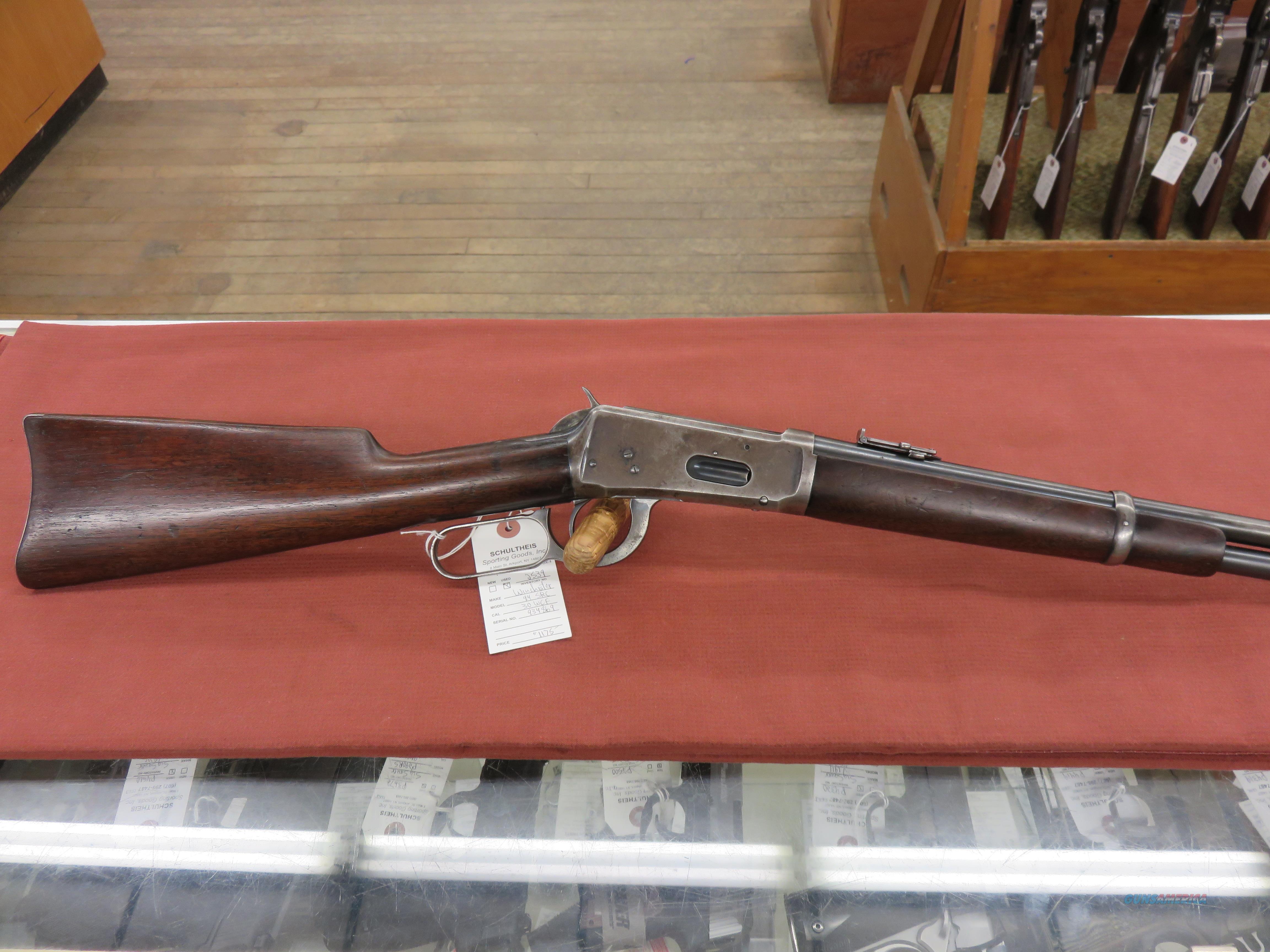 Winchester 94 Saddle Ring Carbine  Guns > Rifles > Winchester Rifles - Modern Lever > Model 94 > Pre-64