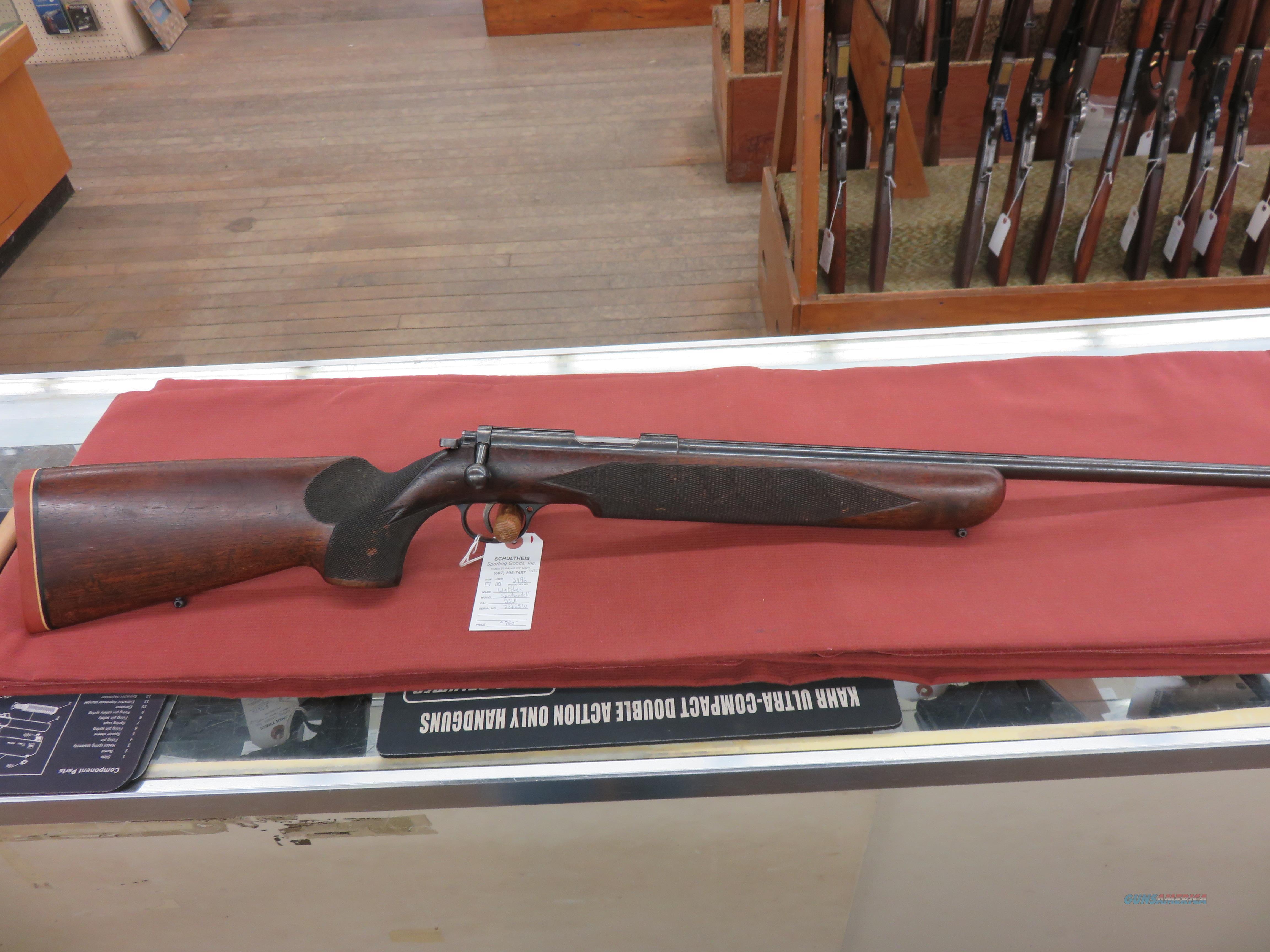 Walther Sportmodell Meisterbuchse  Guns > Rifles > Walther Rifles > Umarex