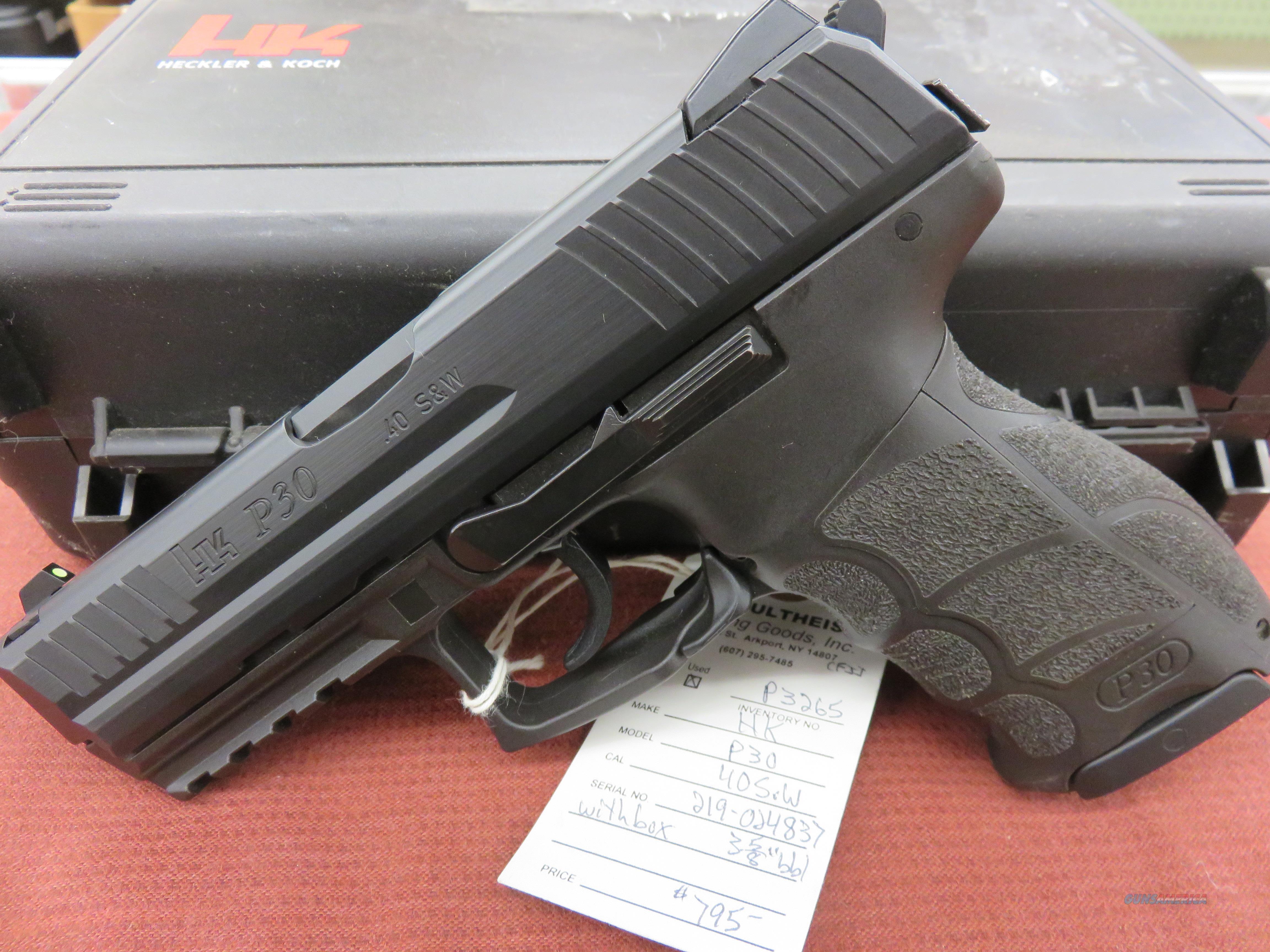 Heckler & Koch P30  Guns > Pistols > Heckler & Koch Pistols > SteelFrame