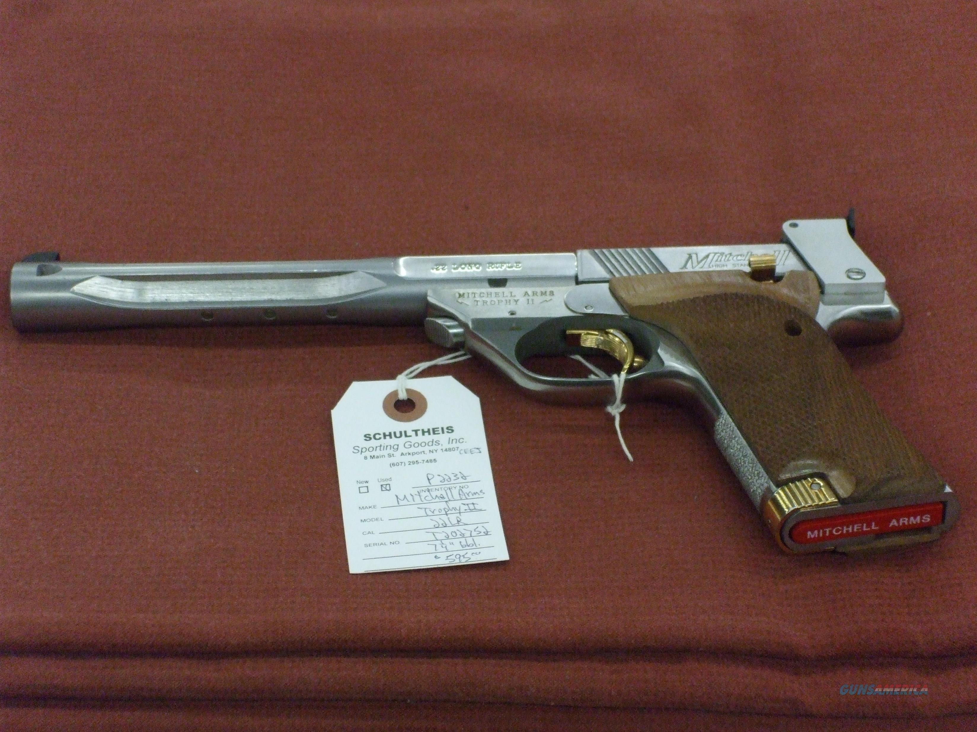 Mitchell Arms/Hi Standard Marked Trophy II  Guns > Pistols > Mitchell Arms Pistols