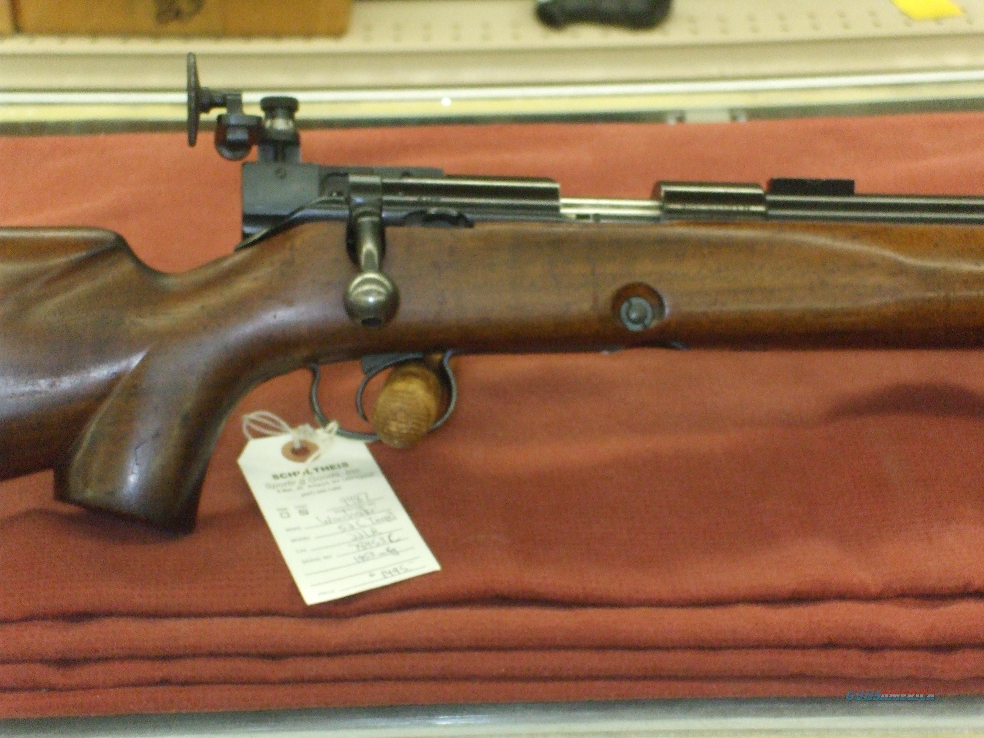 Winchester 52C Target  Guns > Rifles > Winchester Rifles - Modern Bolt/Auto/Single > Other Bolt Action