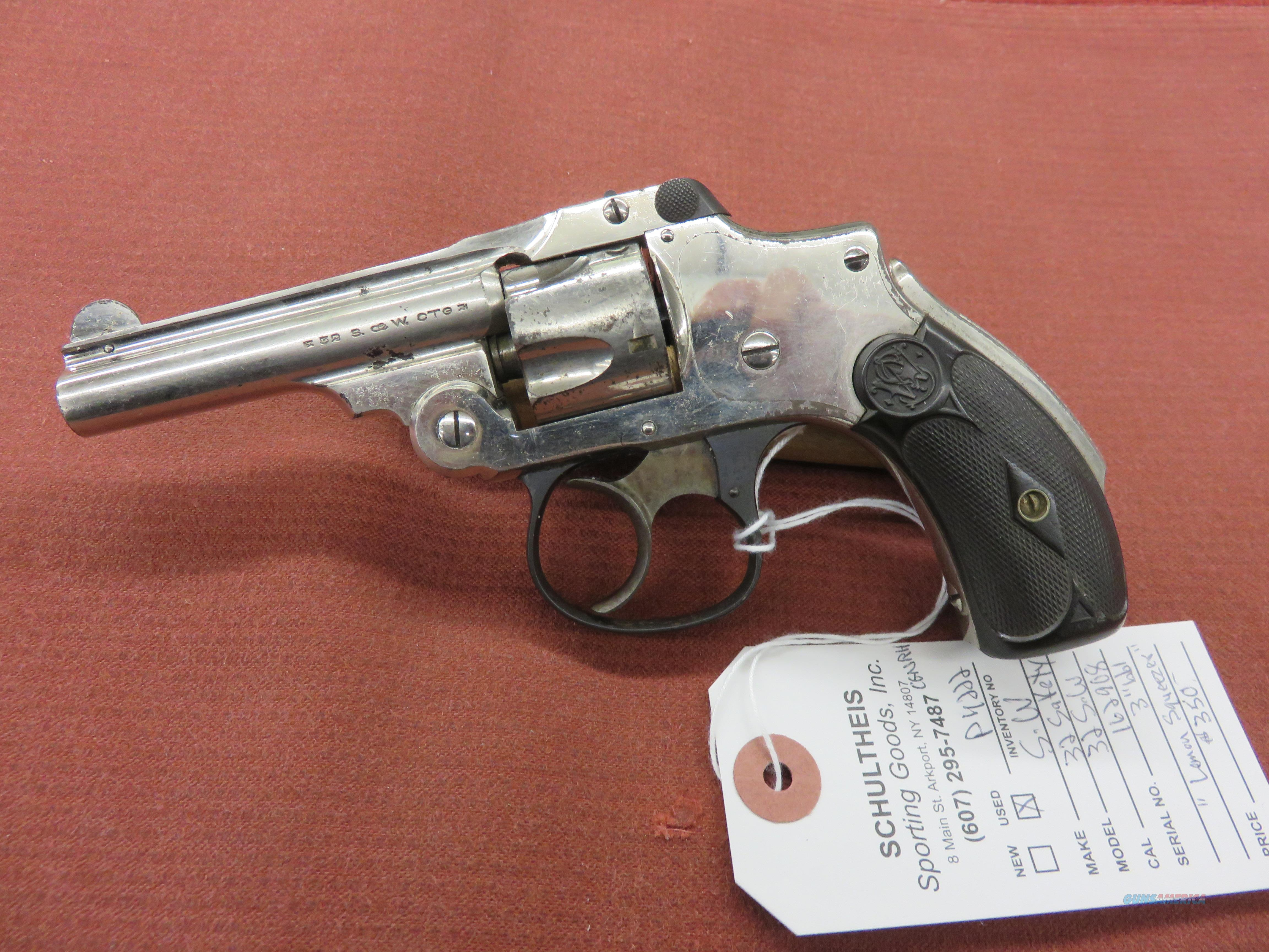 S&W 32 Safety  Guns > Pistols > Smith & Wesson Revolvers > Full Frame Revolver