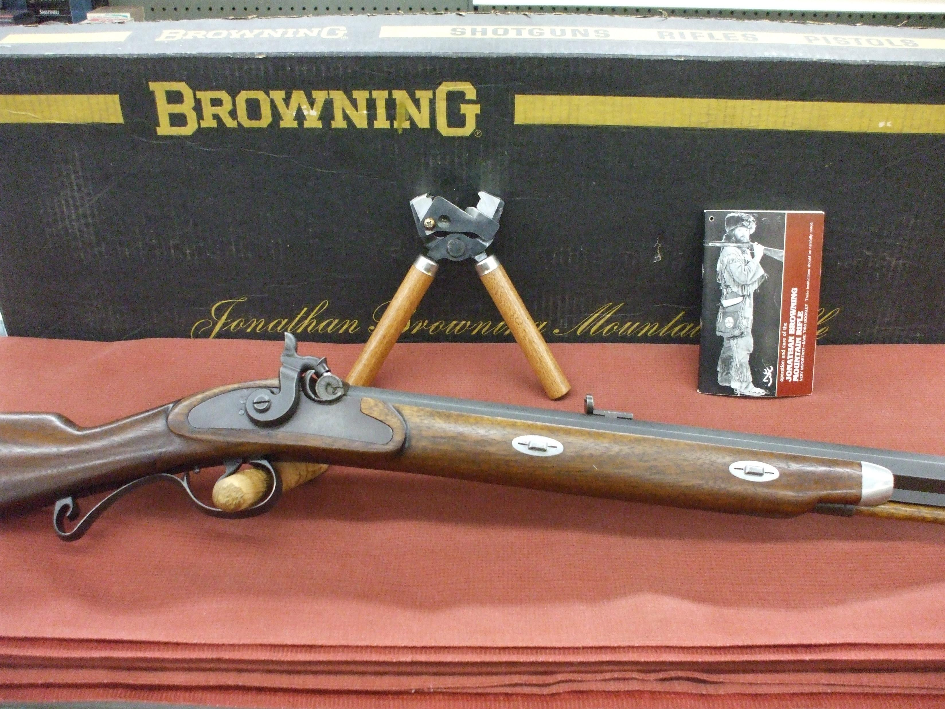 Browning Jonathan Browning Mountain Rifle  Guns > Rifles > Browning Rifles > Singe Shot