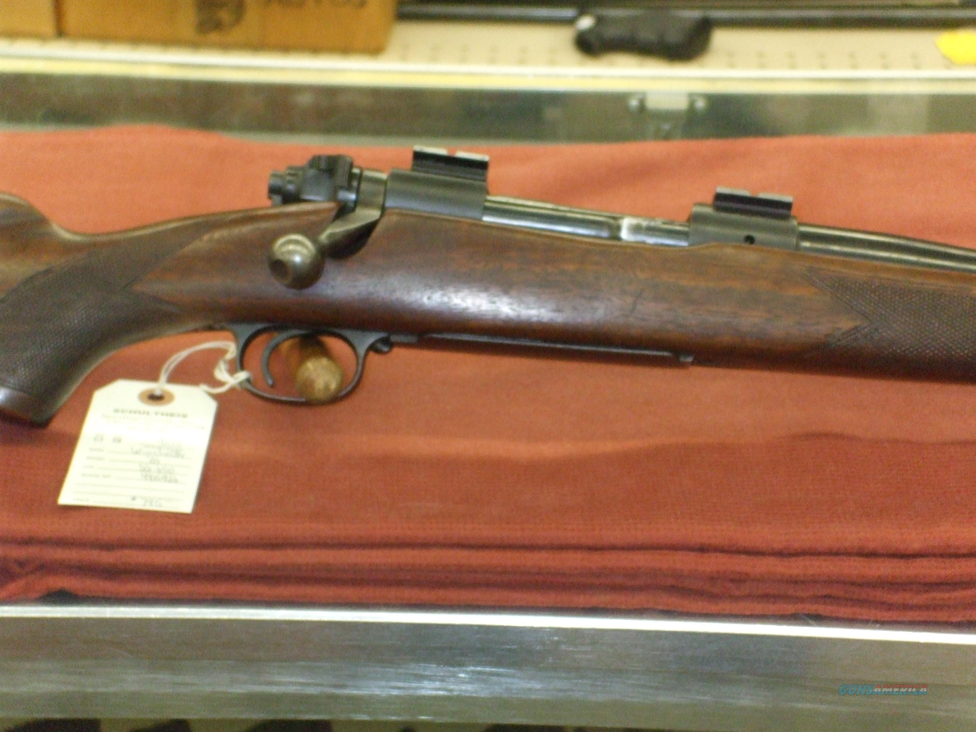 Winchester Model 70, pre-64  Guns > Rifles > Winchester Rifles - Modern Bolt/Auto/Single > Model 70 > Pre-64
