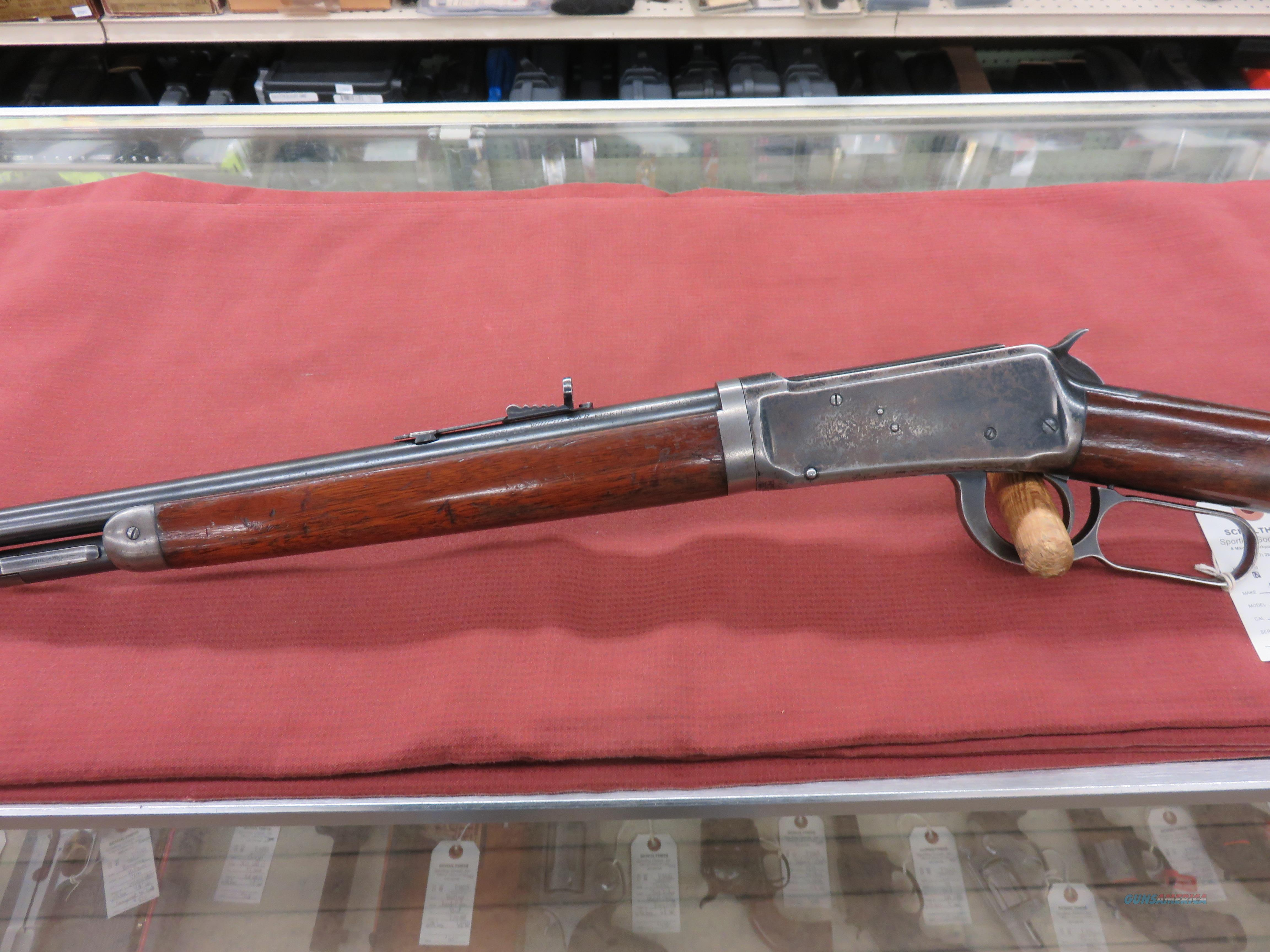 Winchester Model 55 Takedown  Guns > Rifles > Winchester Rifles - Modern Lever > Other Lever > Pre-64