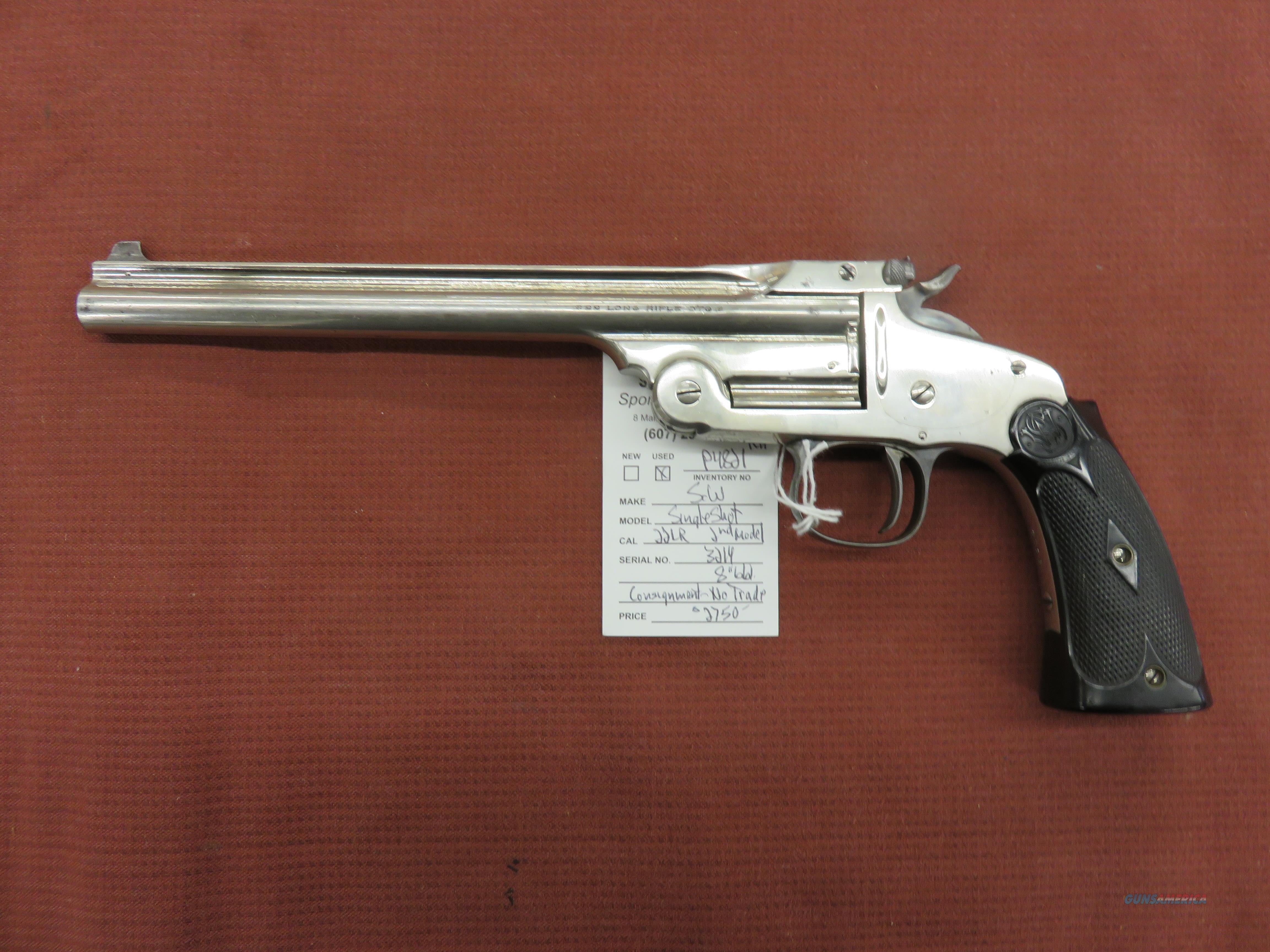 Smith & Wesson Single Shot, 2nd Mode  Guns > Pistols > Smith & Wesson Pistols - Replica