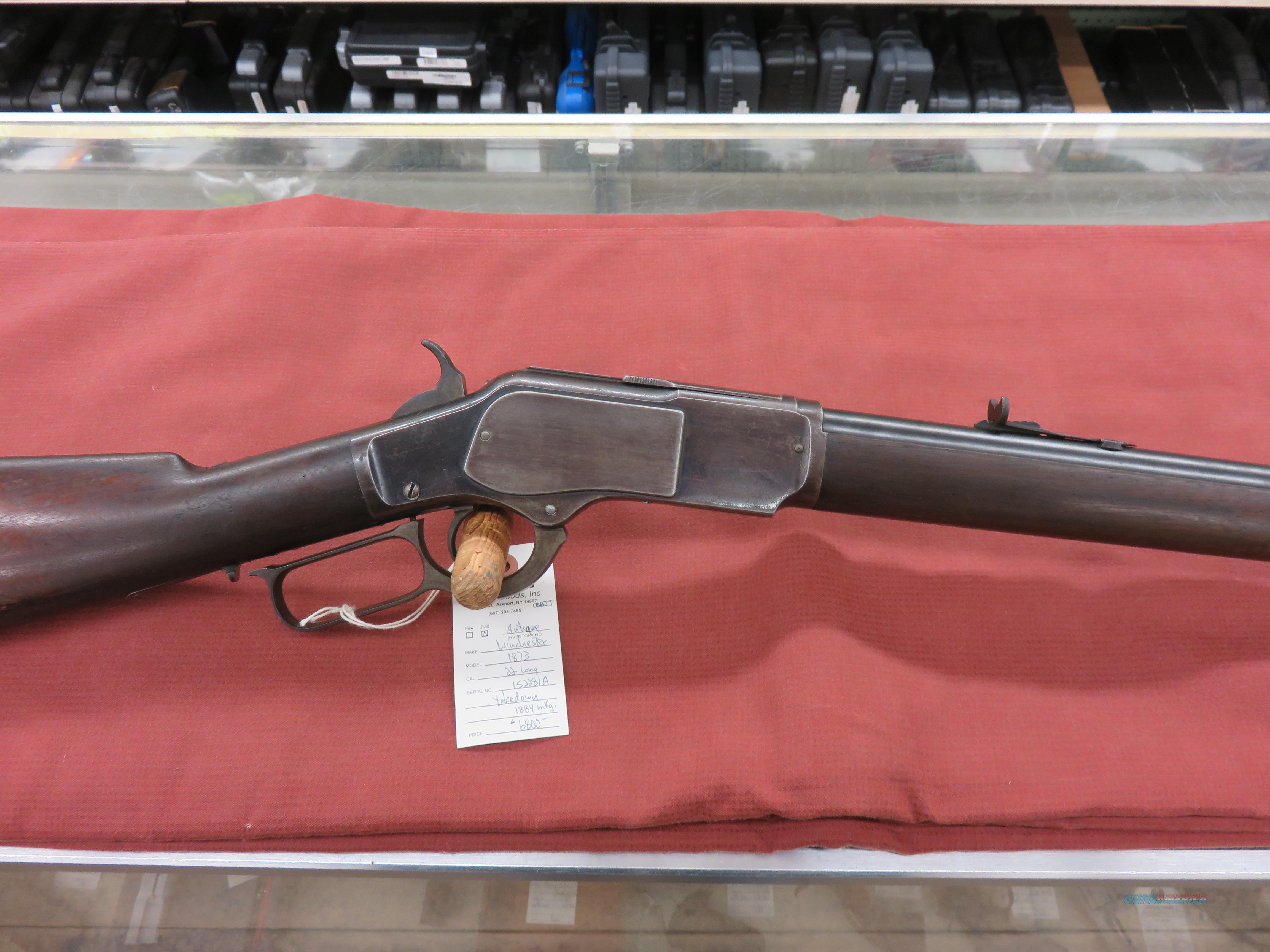 Winchester 1873 Rifle, 22 cal Takedown  Guns > Rifles > Winchester Rifles - Pre-1899 Lever