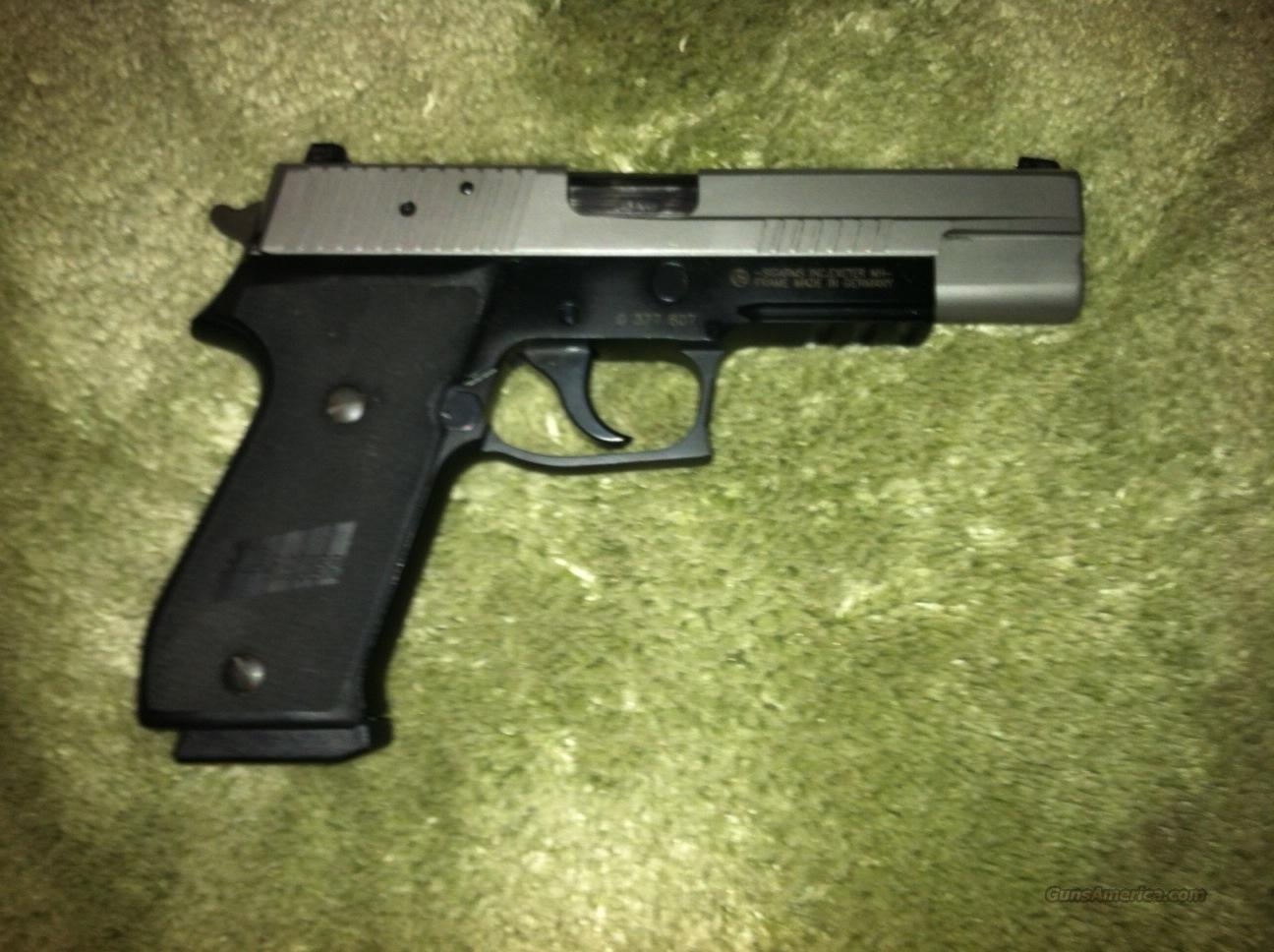 P220 match 5 inch barrel fixed night sights  Guns > Pistols > Sig - Sauer/Sigarms Pistols > P220