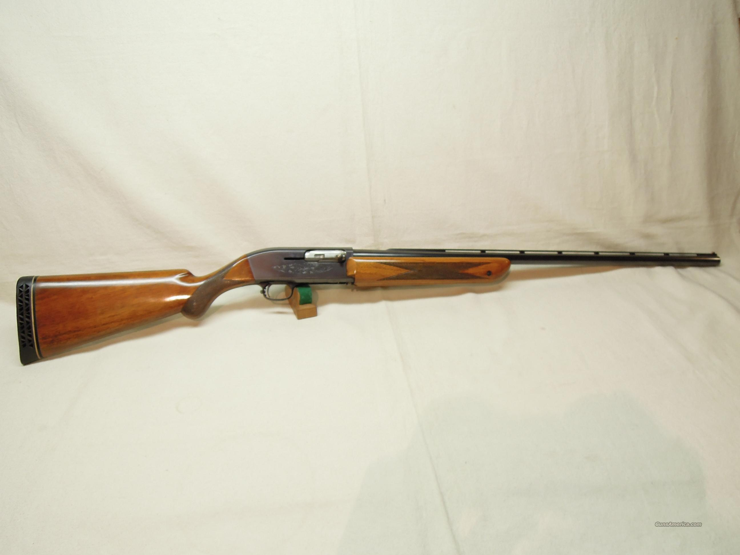 BELGIAN BROWNING DOUBLE AUTOMATIC - 12 GA.  Guns > Shotguns > Browning Shotguns > Autoloaders > Trap/Skeet