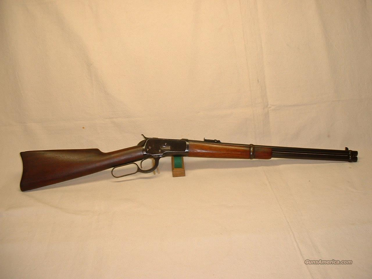 WINCHESTER MODEL  92 SRC - Cal. .38 W.C.F.  Guns > Rifles > Winchester Rifles - Modern Lever > Other Lever > Pre-64