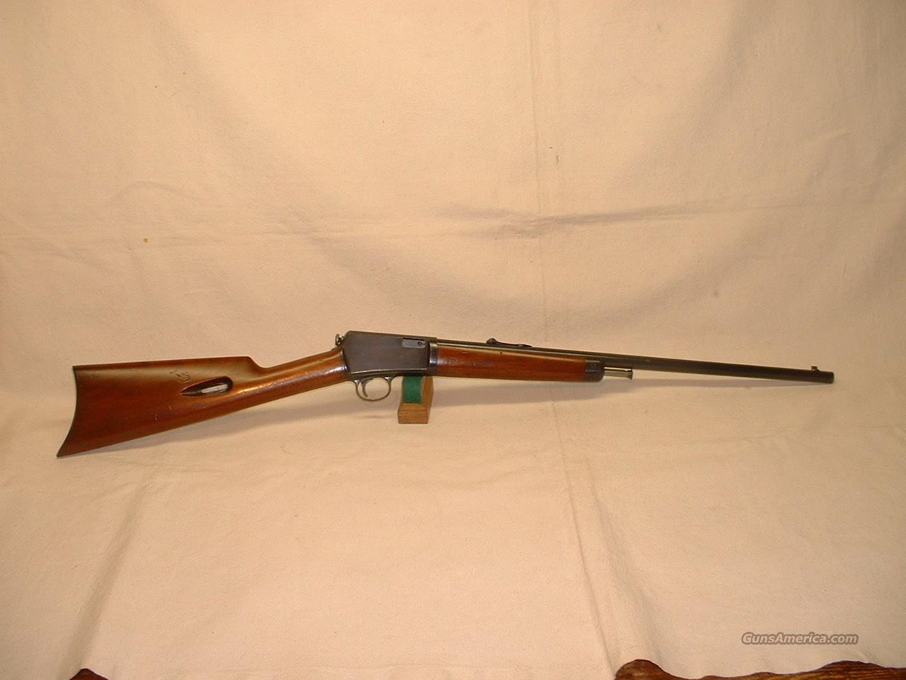 WINCHESTER MODEL 1903 - CAL. .22 AUTOMATIC  Guns > Rifles > Winchester Rifles - Modern Bolt/Auto/Single > Autoloaders