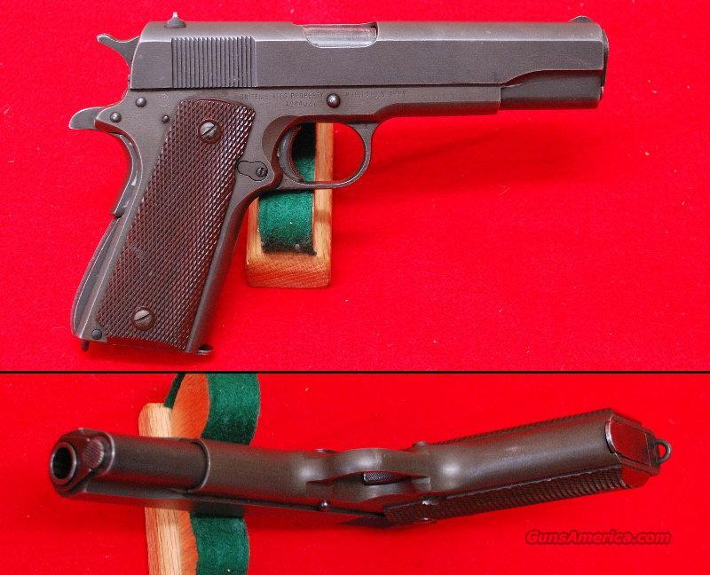Remington Rand 1911 A1 - Original  Guns > Pistols > Colt Automatic Pistols (1911 & Var)