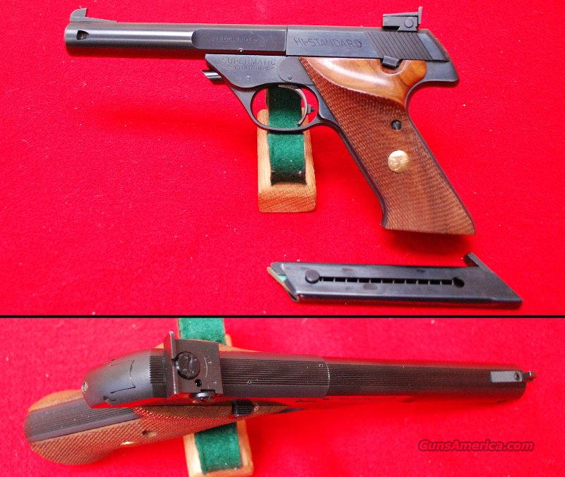High Standard Supermatic Citation Model 104  Guns > Pistols > High Standard Pistols