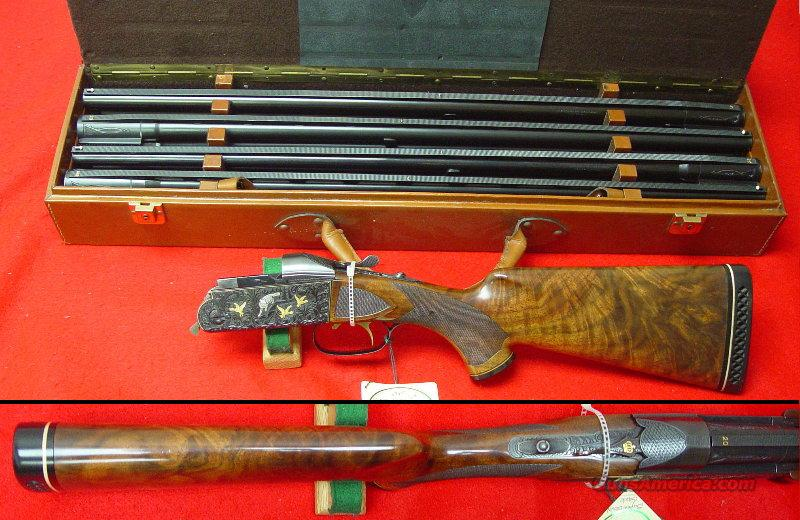 K-32 Super Crown 4 Barrel Skeet Set  Guns > Shotguns > Krieghoff Shotguns