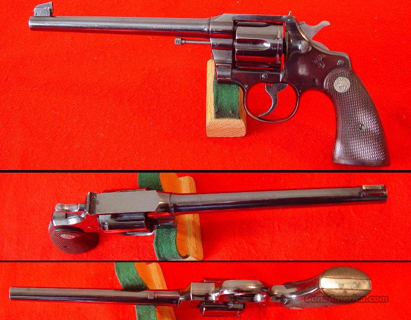 "Colt Officers Model 38, 2nd Issue - 7&1/2"" Barrel - Minty  Guns > Pistols > Colt Double Action Revolvers- Pre-1945"