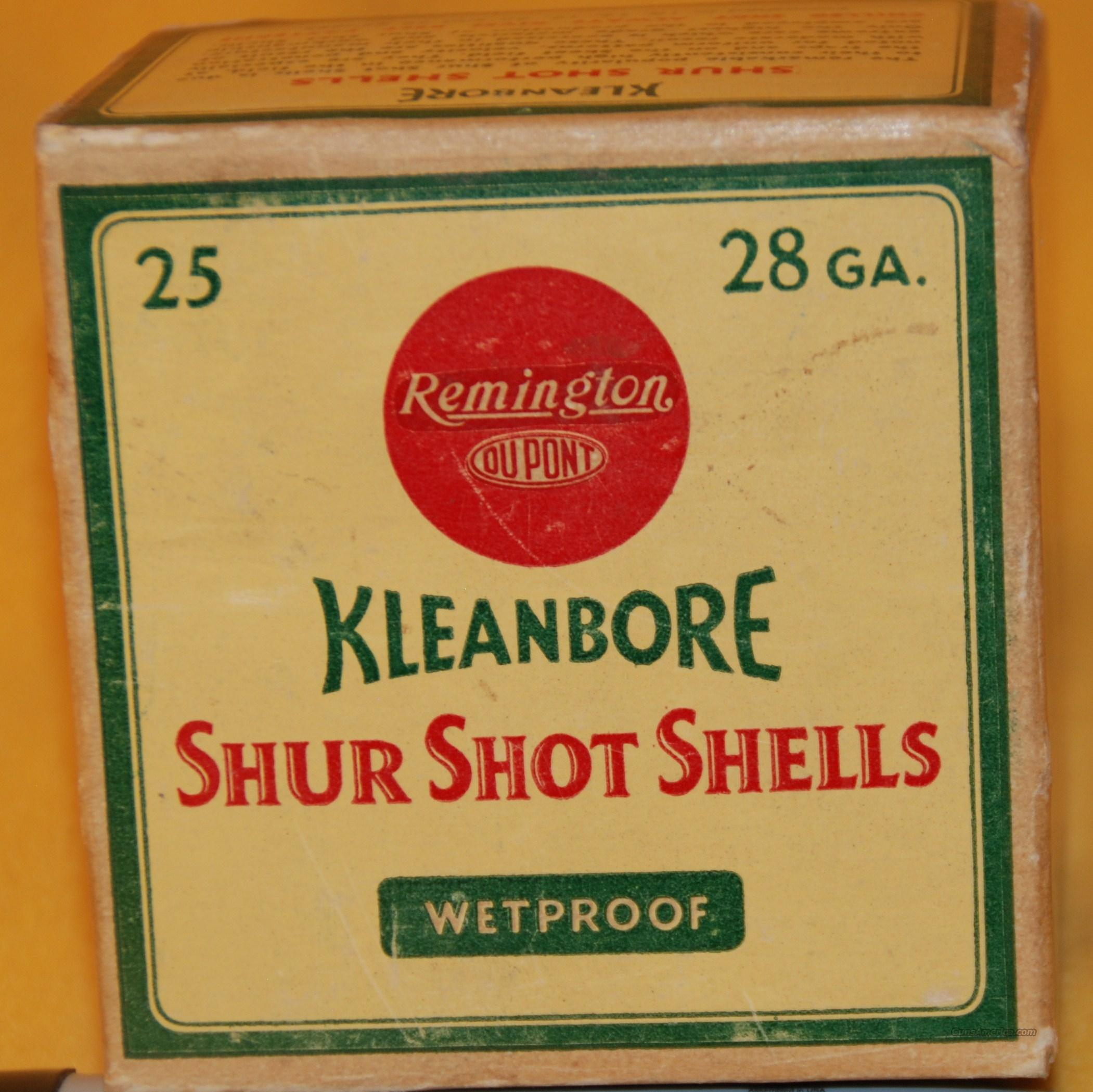 REMINGTON KLEANBORE SHUR SHOT SHELLS 28 GA   Non-Guns > Ammunition