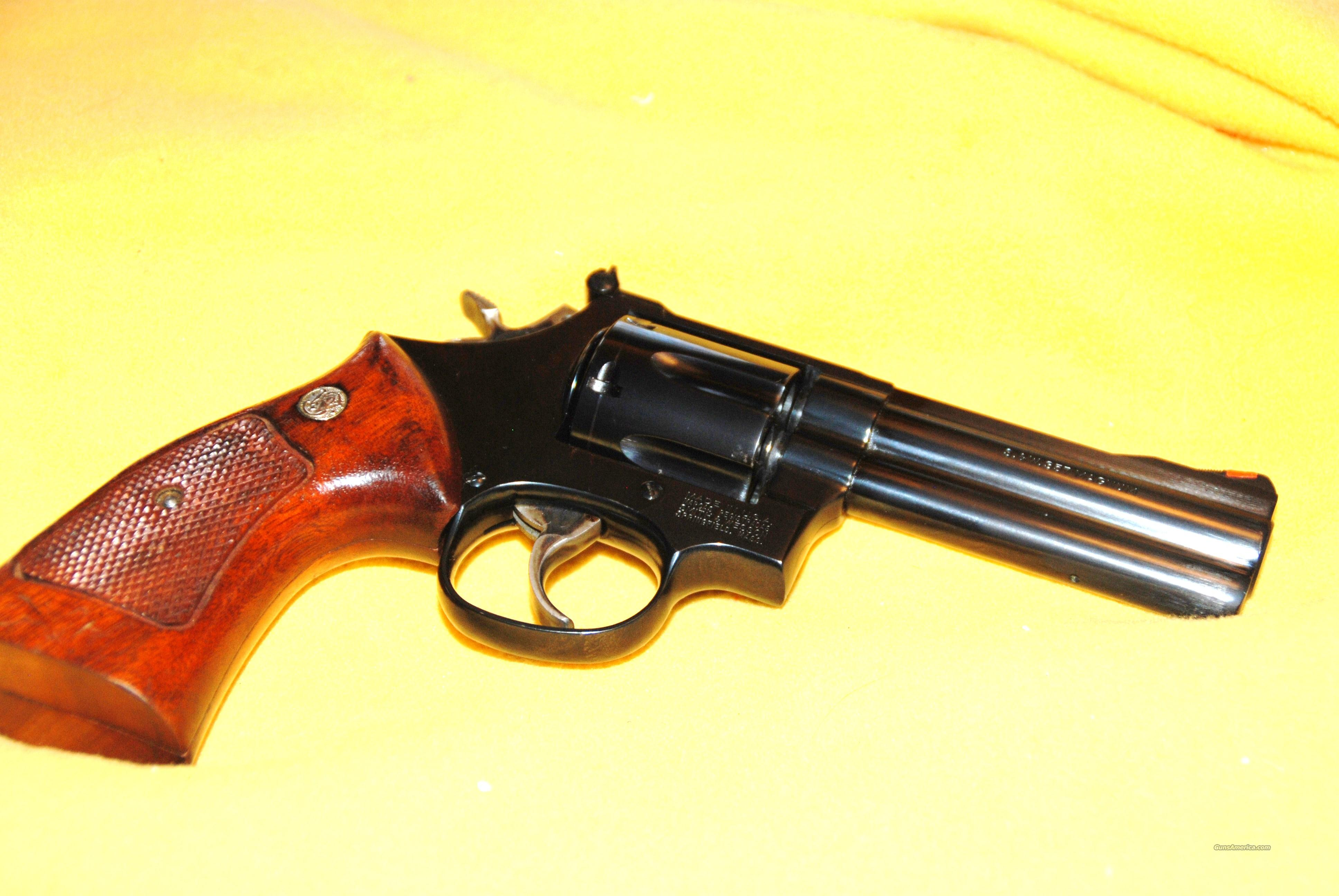 Smith & Wesson Model 586-3 357Magnum, Mint Condition, No. BHY5369  Guns > Pistols > Smith & Wesson Revolvers > Full Frame Revolver