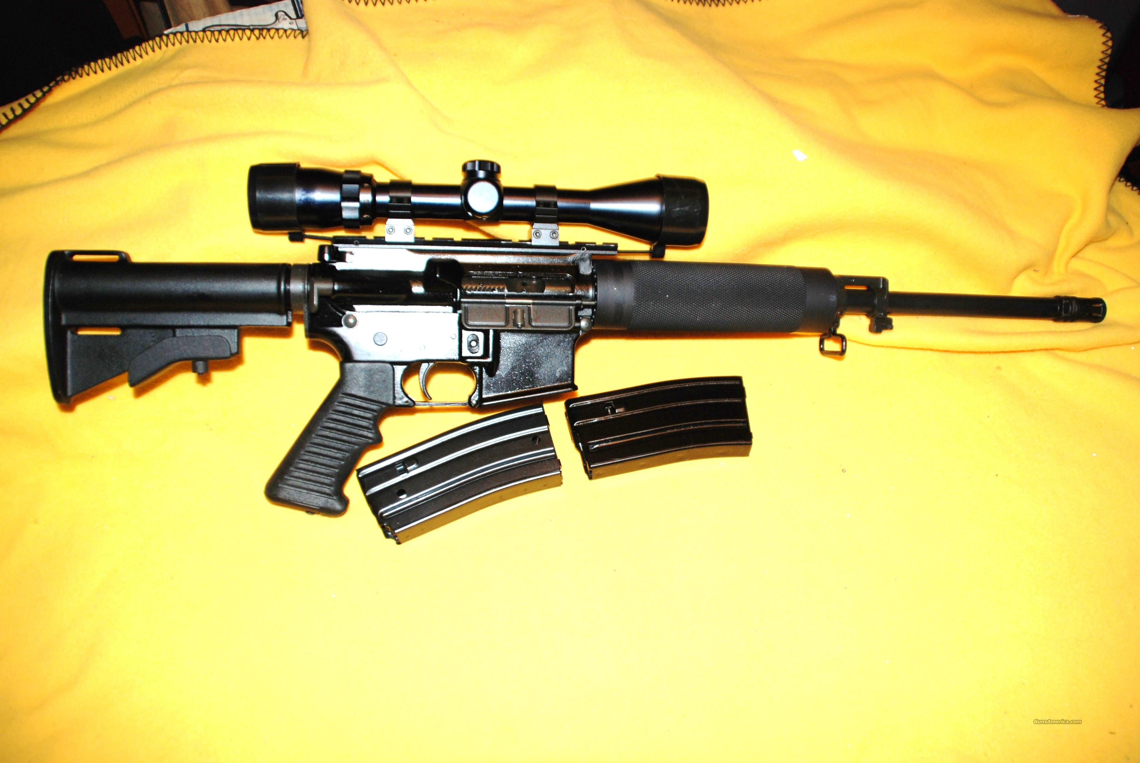 Olympic Arms AR 15 Model ML-2 223/scope  Guns > Rifles > AR-15 Rifles - Small Manufacturers > Complete Rifle