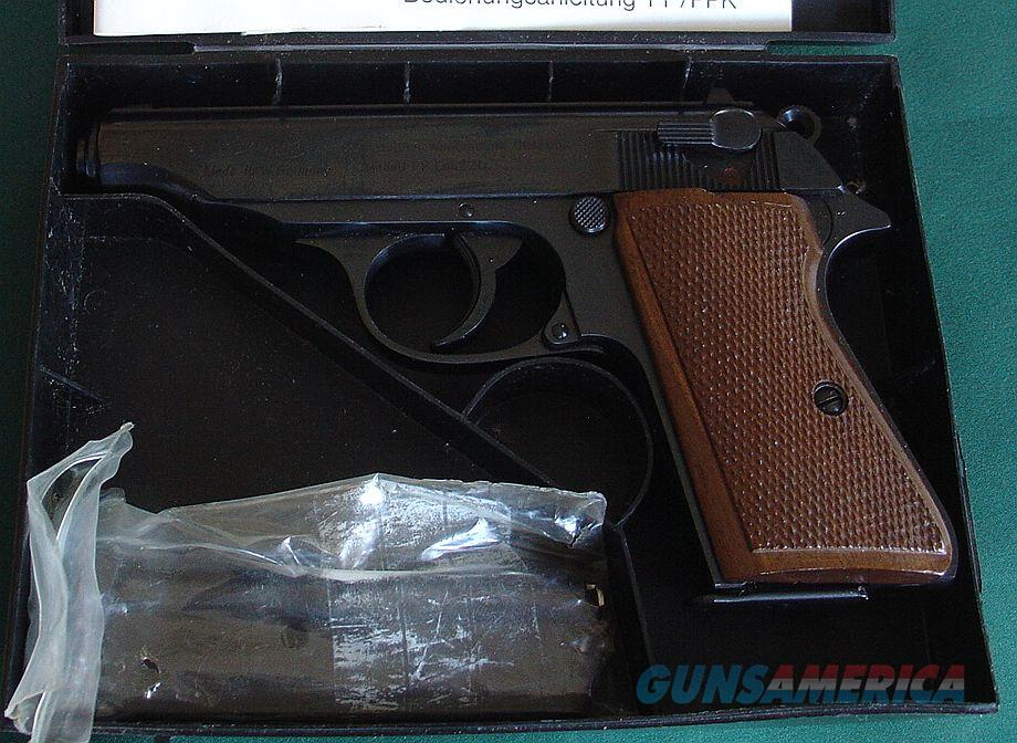 Walther PP 22 LR No Interarms Marking  Guns > Pistols > Walther Pistols > Post WWII > PPK Series
