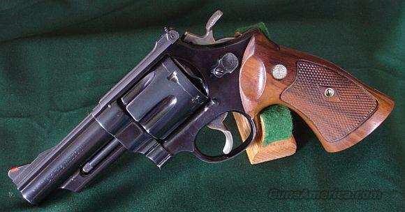 "S&W Pre-29 4 Screw 4"" Blue  Guns > Pistols > Smith & Wesson Revolvers > Full Frame Revolver"