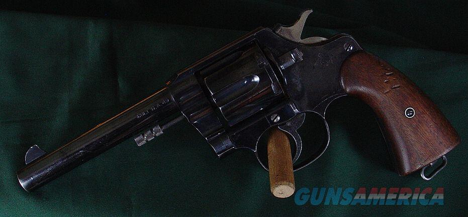 Colt Model 1909 Military Colt 45 Caliber  Guns > Pistols > Colt Double Action Revolvers- Pre-1945