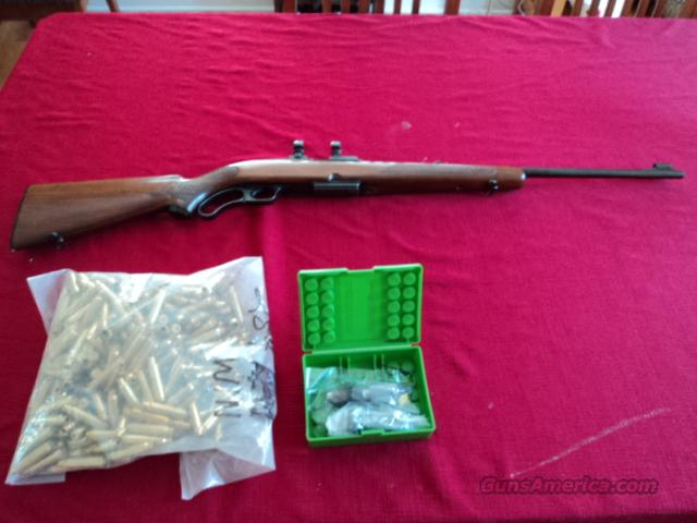 Winchester M88-284 win cal. +new brass+new dies  Guns > Rifles > Winchester Rifles - Modern Lever > Other Lever > Post-64