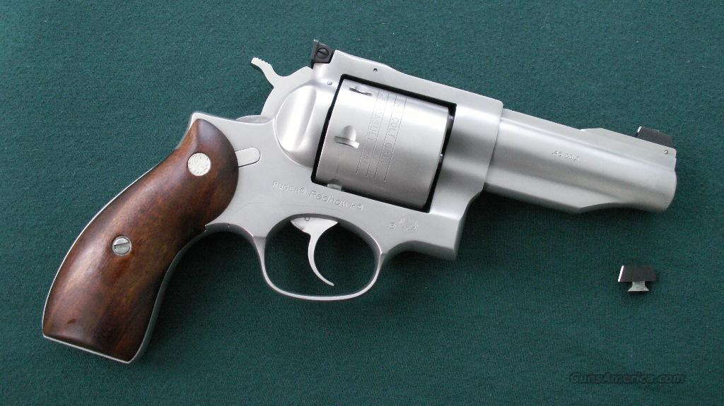 Bowen Ruger Redhawk .454 Casull .45 Colt  Guns > Pistols > Ruger Double Action Revolver > Redhawk Type