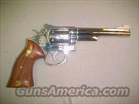 S&W MODEL 19 NICKEL  Guns > Pistols > Smith & Wesson Revolvers > Full Frame Revolver