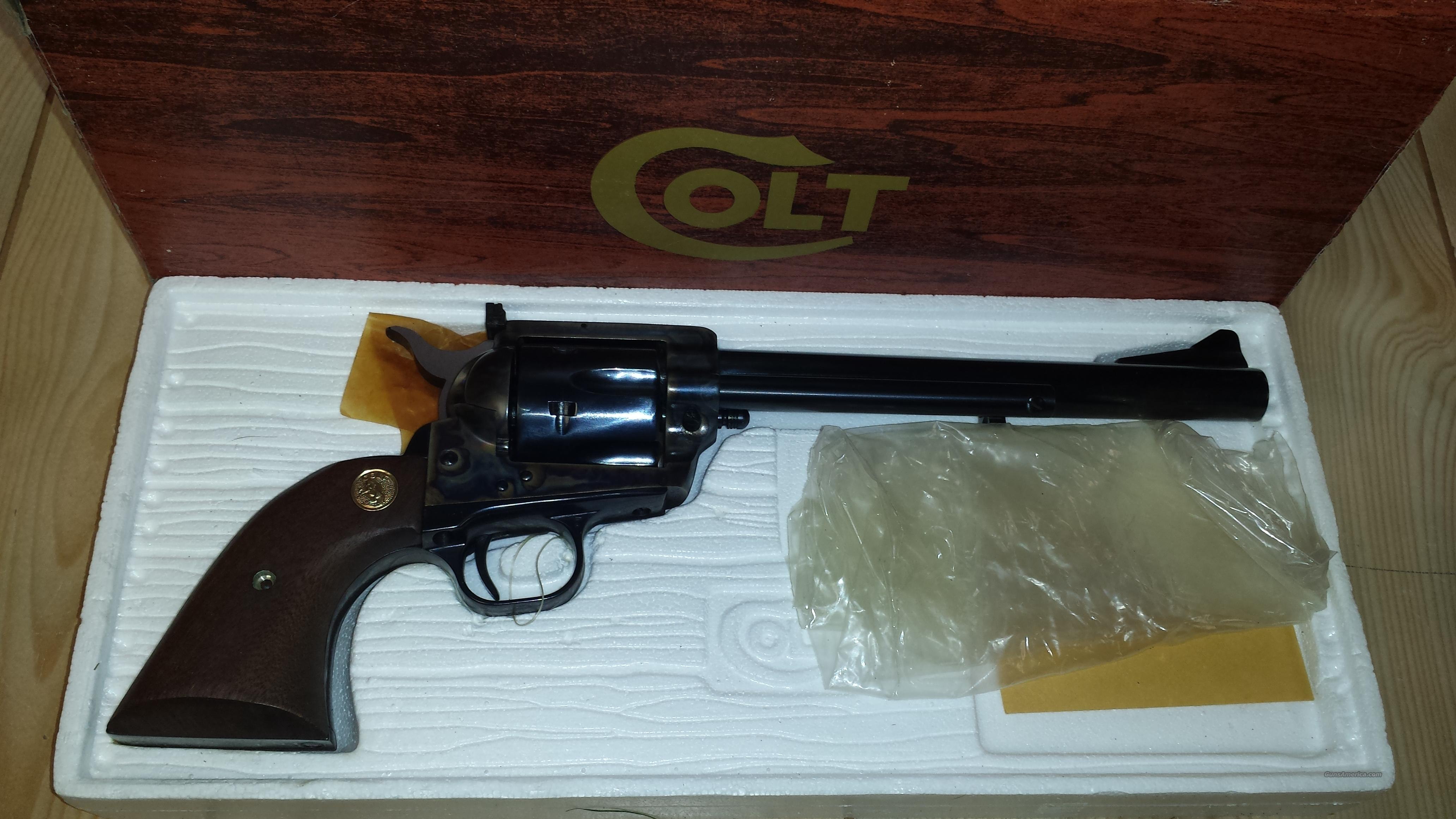 COLT NEW FRONTIER SA .45LC  Guns > Pistols > Colt Single Action Revolvers - Modern (22 Cal.)