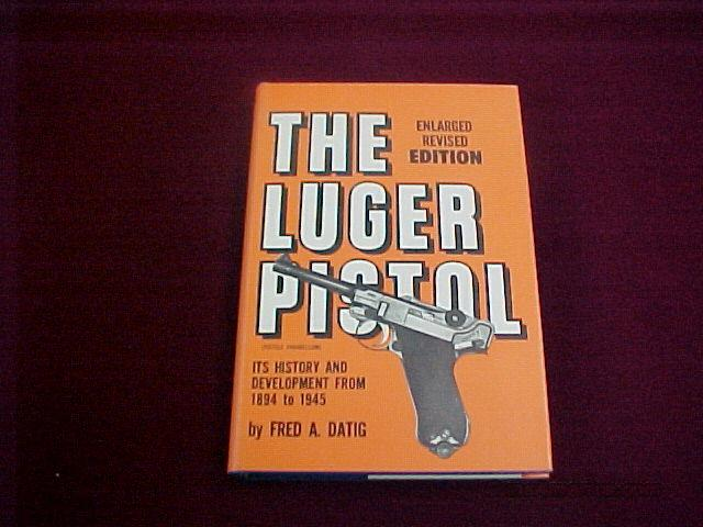 OUT OF PRINT LUGER BOOKS  Non-Guns > Books & Magazines