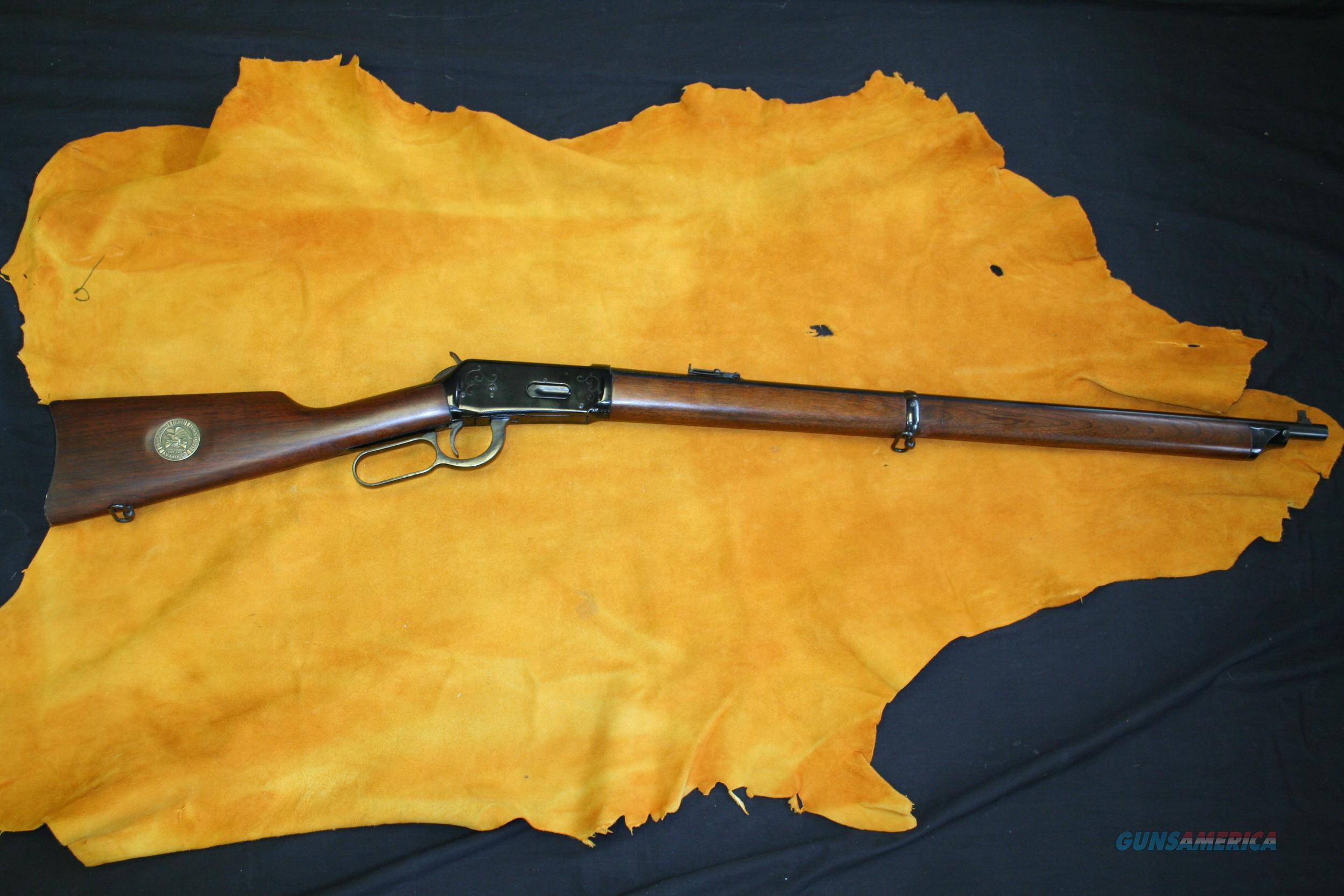 WINCHESTER 1894 - NRA CENTENNIAL MUSKET 1871-1971 - 30-30WIN - LEVER-ACTION  Guns > Rifles > Winchester Rifle Commemoratives