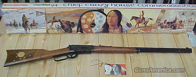 chief crazy horse  Guns > Rifles > Winchester Rifle Commemoratives