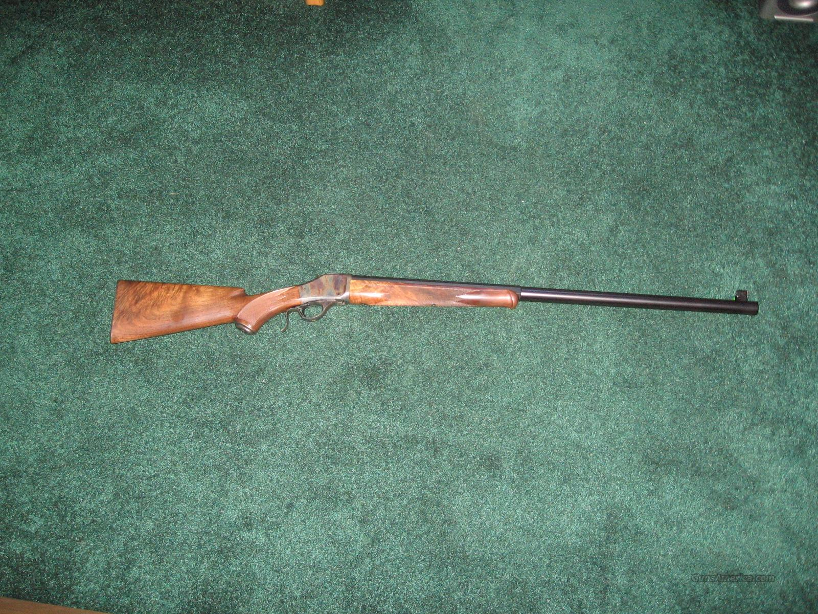 Browning BPCR MODEL 1885  Guns > Rifles > Browning Rifles > Singe Shot