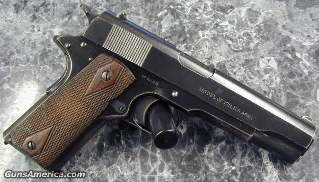 "1911 ""Black  Army Finish"" &quo  Guns > Pistols > Military Misc. Pistols US"