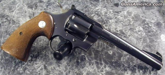 Officers Model Match 38   1953  Guns > Pistols > Colt Double Action Revolvers- Modern