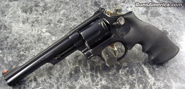 "Md19-6 6"" Blued TH TT NICE!  Guns > Pistols > Smith & Wesson Revolvers"