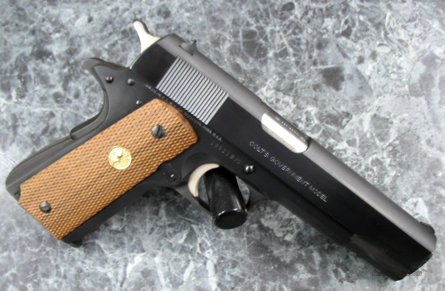 MK IV Government Md.70 45acp Series 70 LIKE NEW  Guns > Pistols > Colt Automatic Pistols (1911 & Var)