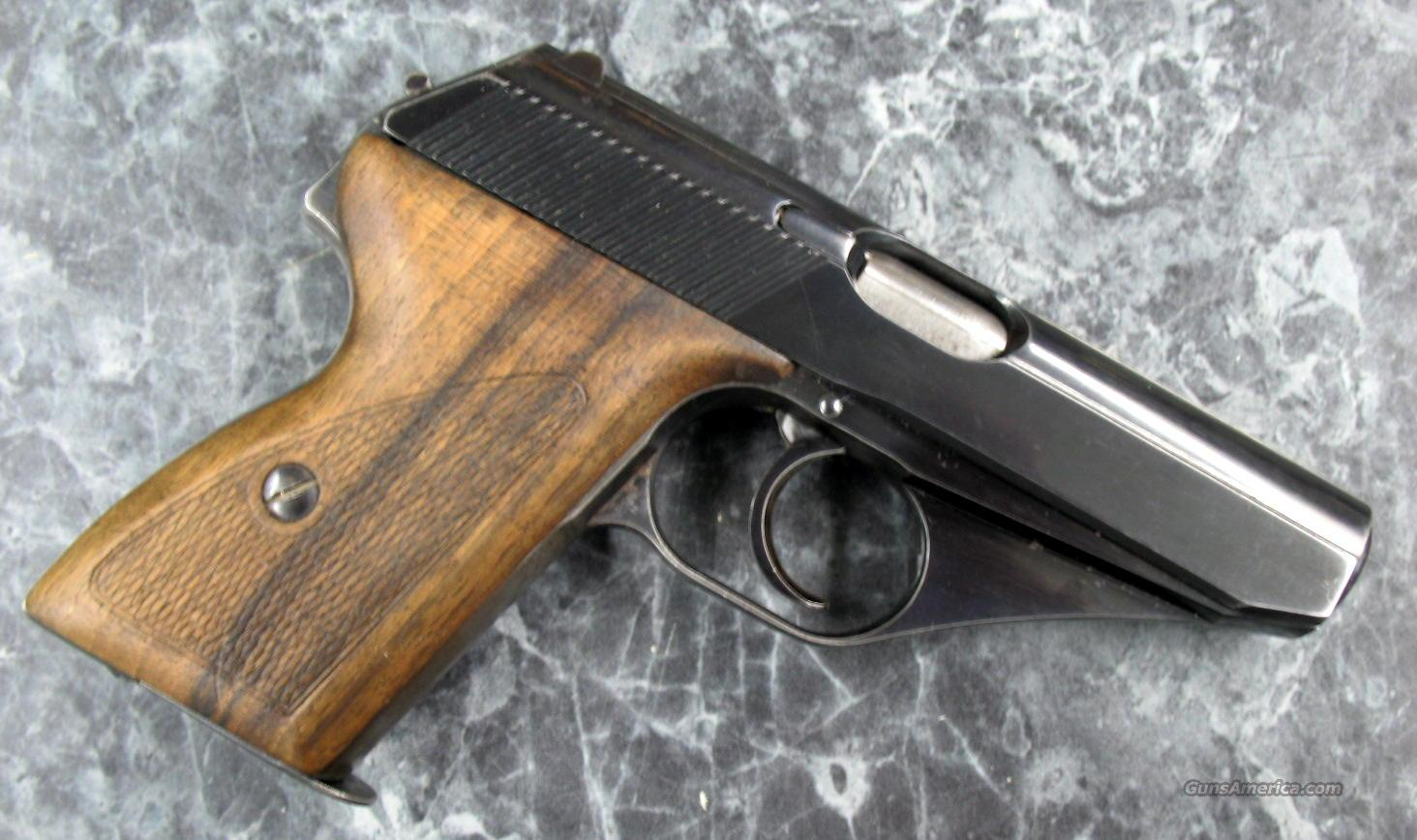 Mauser HSc 32acp.German police marked  Guns > Pistols > Military Misc. Pistols US > Other