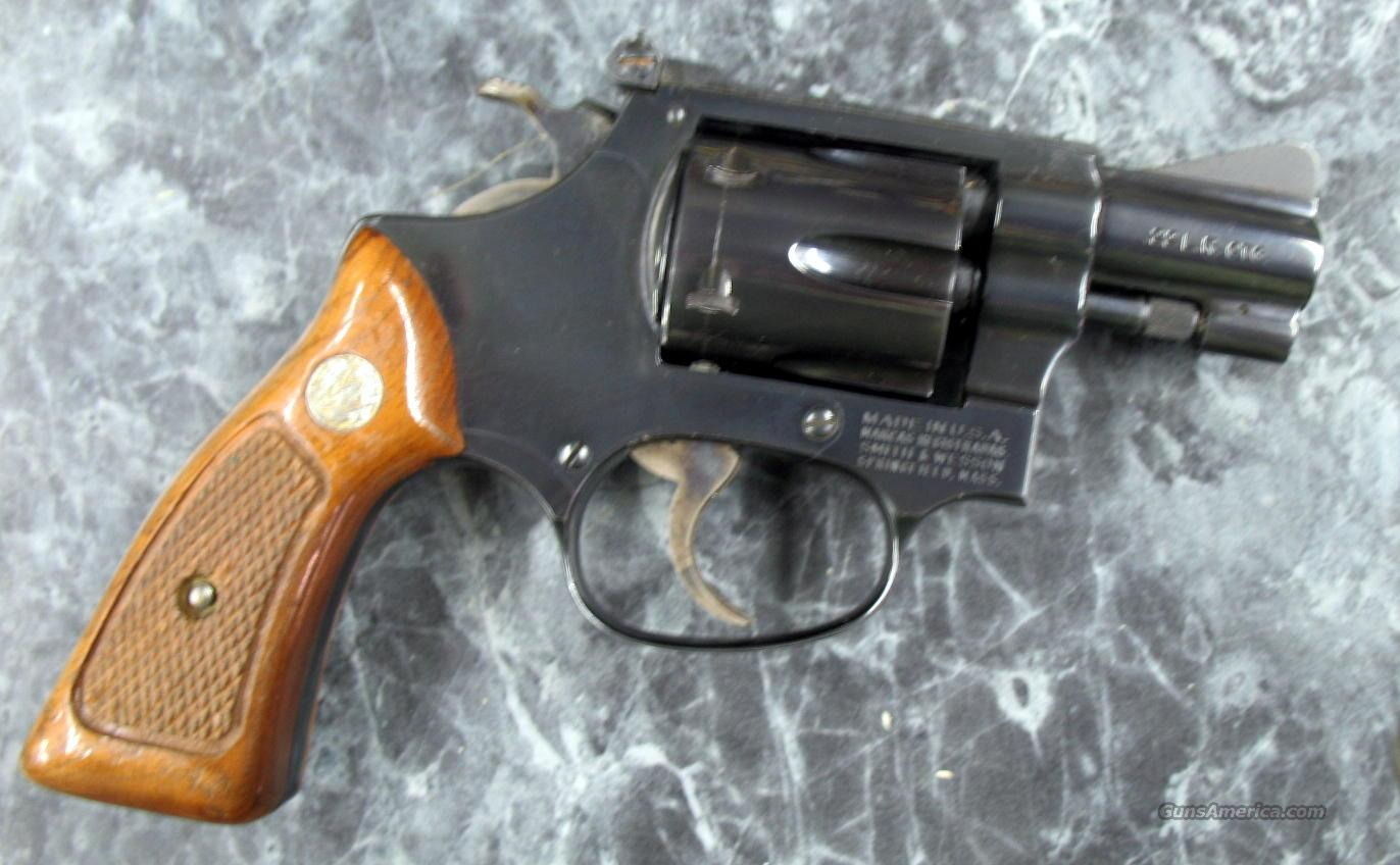 "Smith & Wesson Md.34-1 2"" blued ""1982""  Guns > Pistols > Smith & Wesson Revolvers > Pocket Pistols"