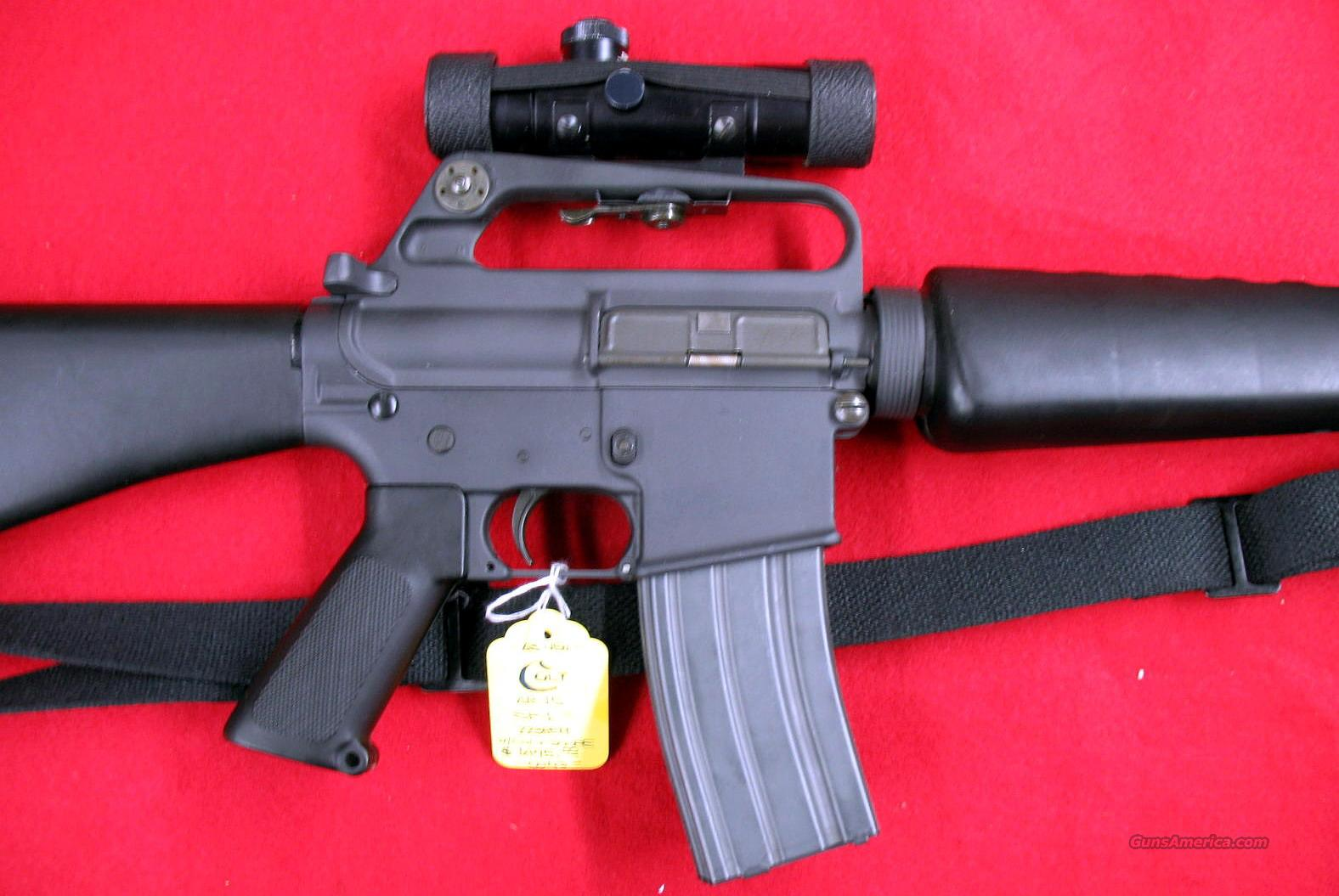 Early SP1 (R6000) 223 w/factory 3x scope Nice!  Guns > Rifles > Colt Military/Tactical Rifles