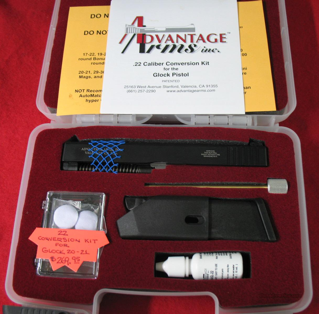 New Advantage arms Gen 4 Glock Md 20-21  22cal conversion kits  Non-Guns > Magazines & Clips > Pistol Magazines > Glock